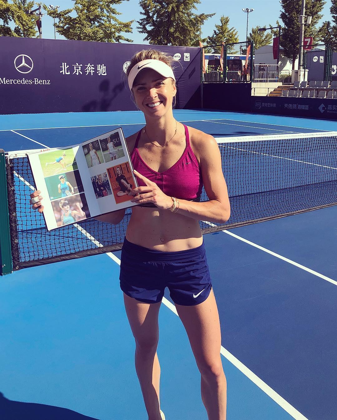 Svitolina has won all three finals she's played this year