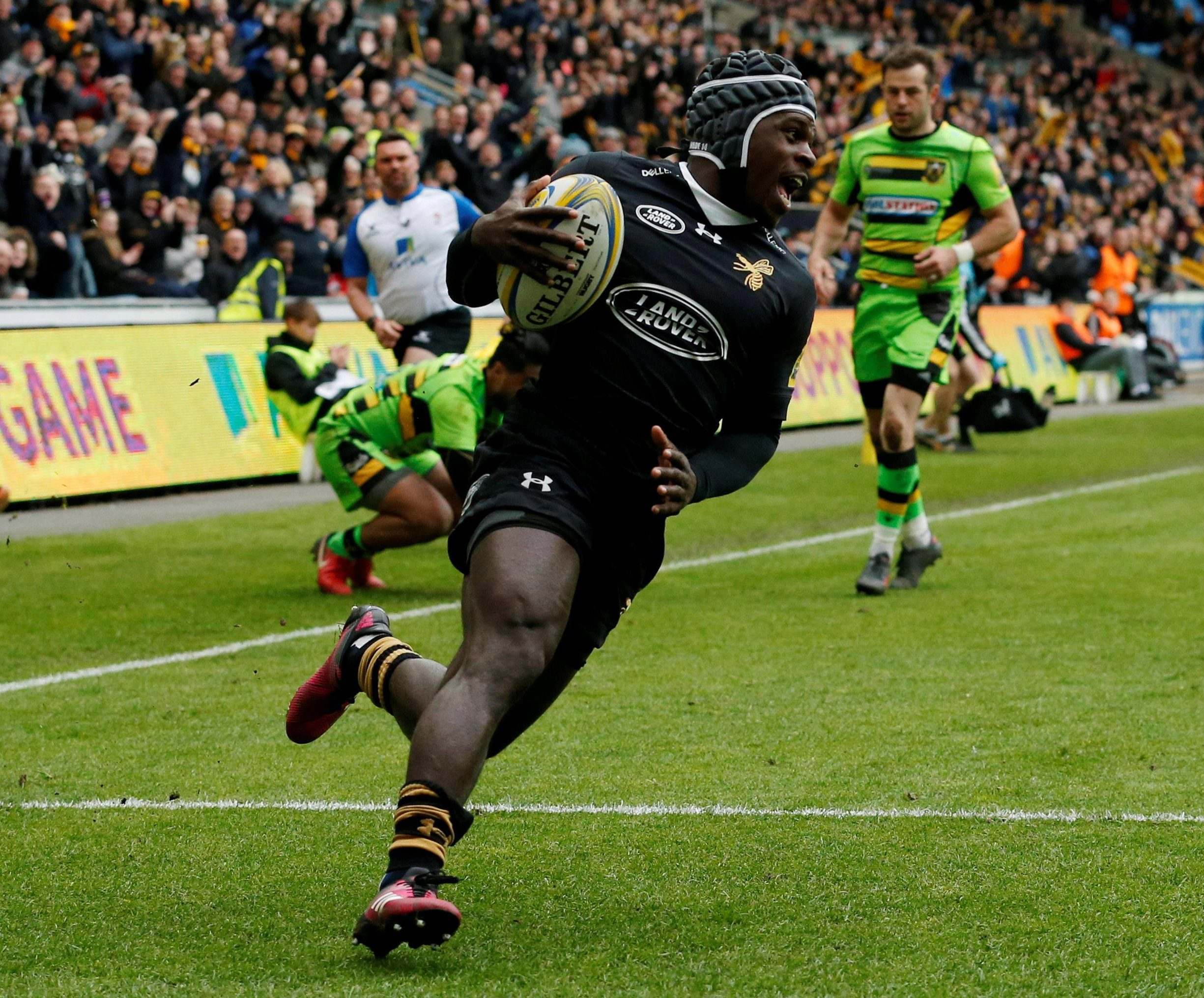 Christian Wade is the third-highest scorer ever in Premiership history
