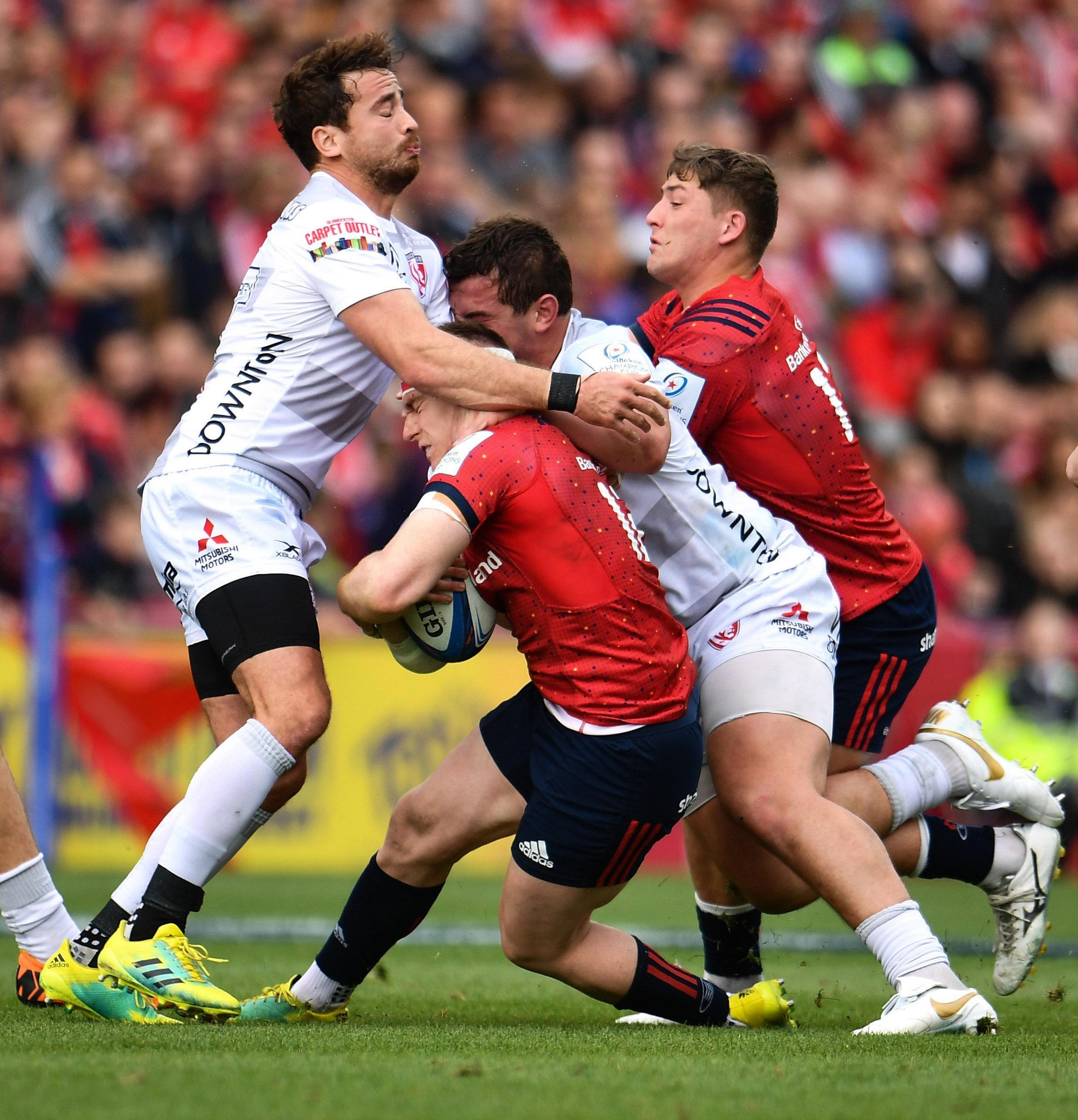 Cirpriani was adjudged to have hit Scannell with his shoulder in a high tackle as World Rugby crack down on dangerous tackles