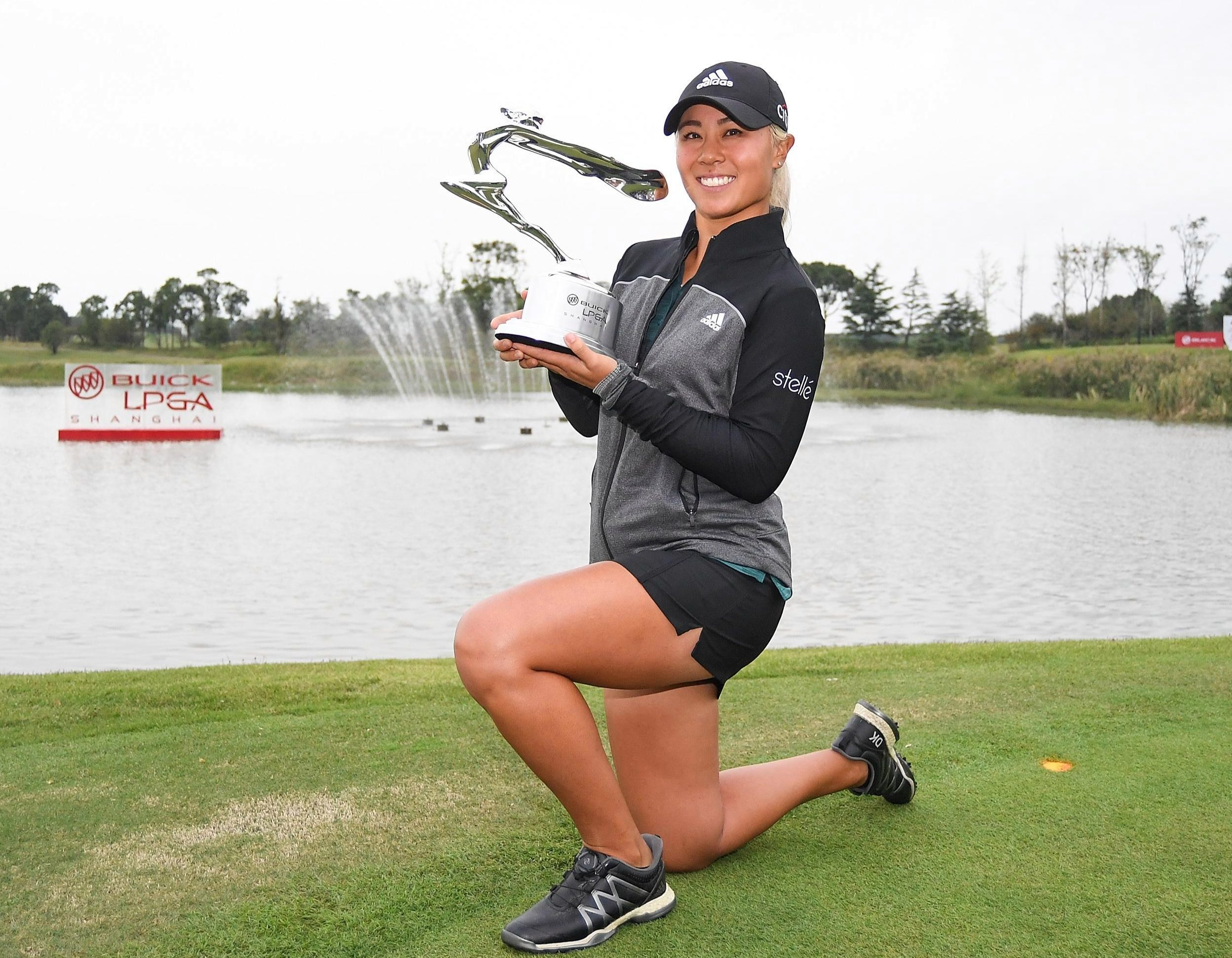 Danielle Kang joined the Smile Hai club with victory in China's second biggest city