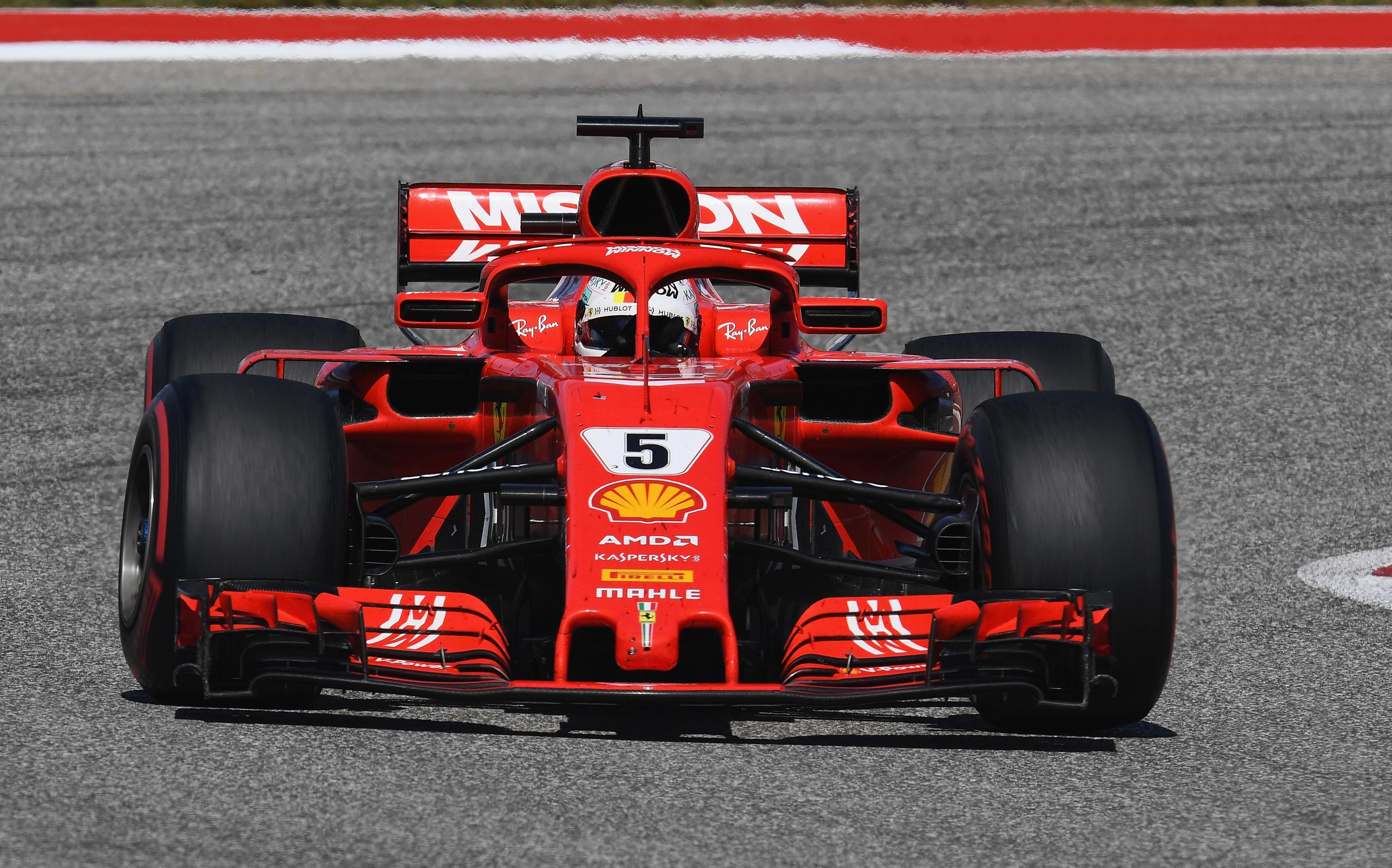 Sebastian Vettel has had to sit back and watch his great rival Lewis Hamilton coast home to an expected world title win