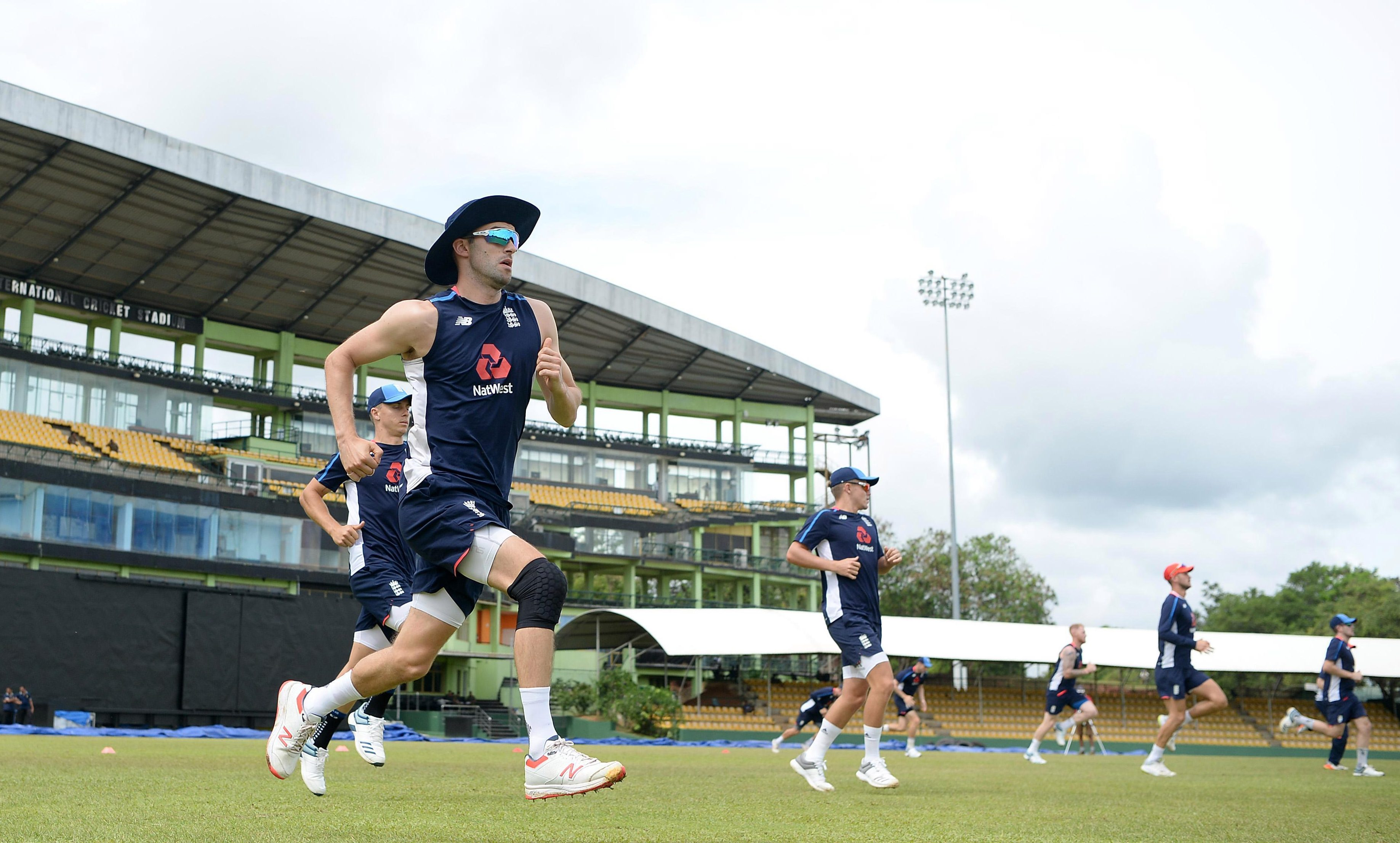 Mark Wood is champing at the bit to help England confirm their series domination