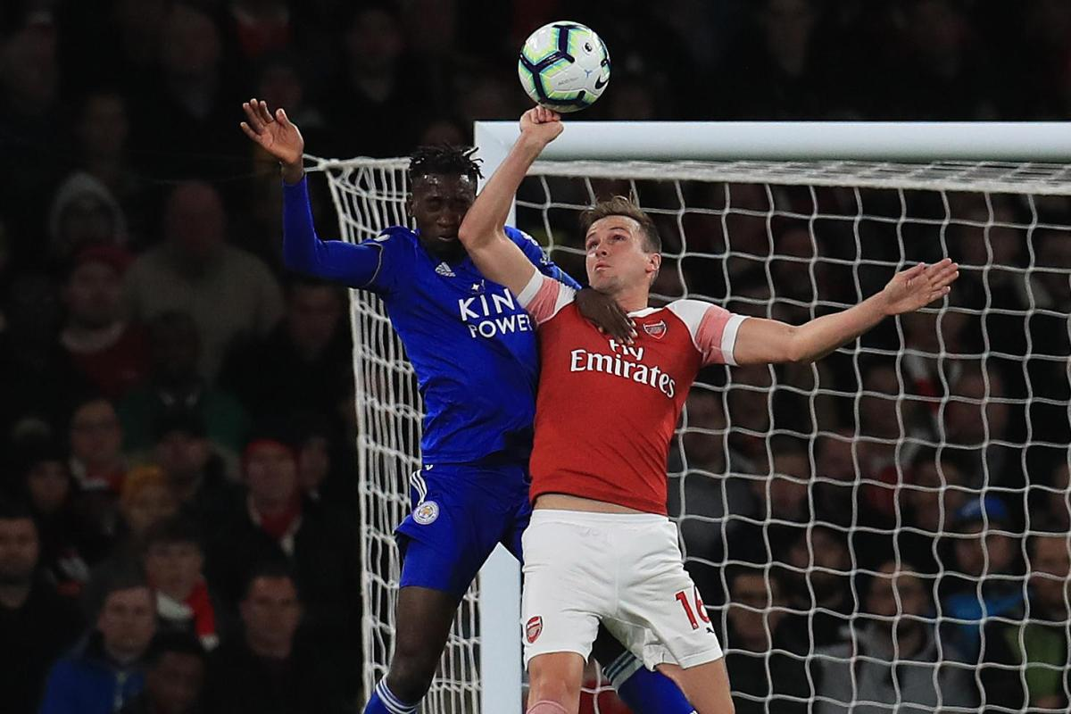 Image result for holding leicester handball