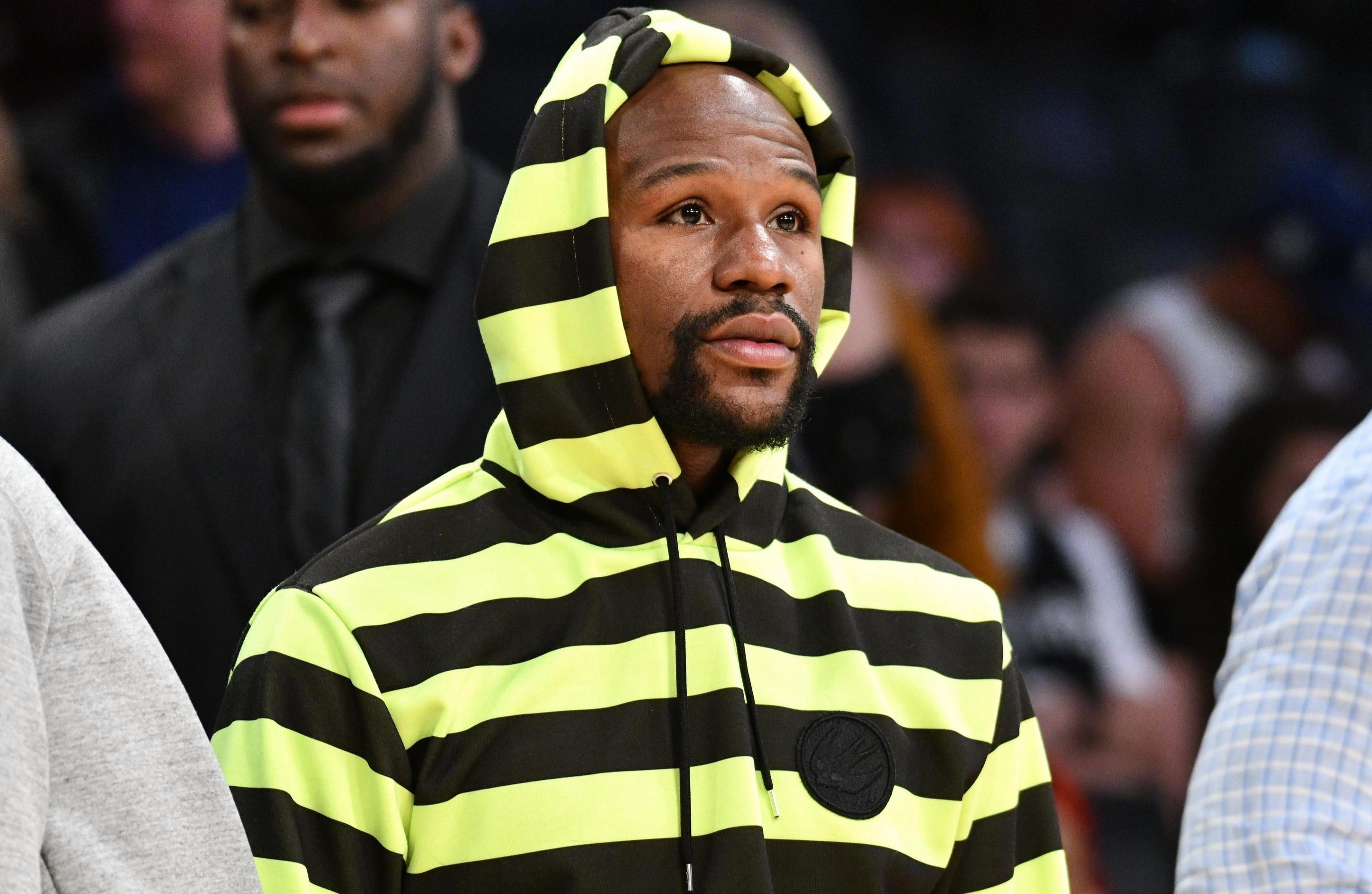 Mayweather has welcomed talk of a bout against UFC star Khabib