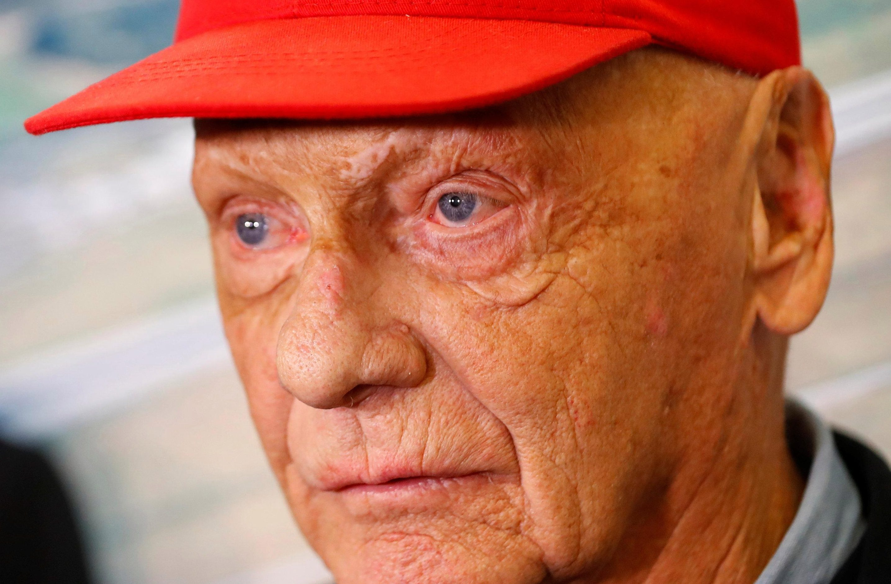 Austrian Niki Lauda, who has left hospital and is recovering from the serious surgery, won the Formula One world title in 1975, 1977 and 1984