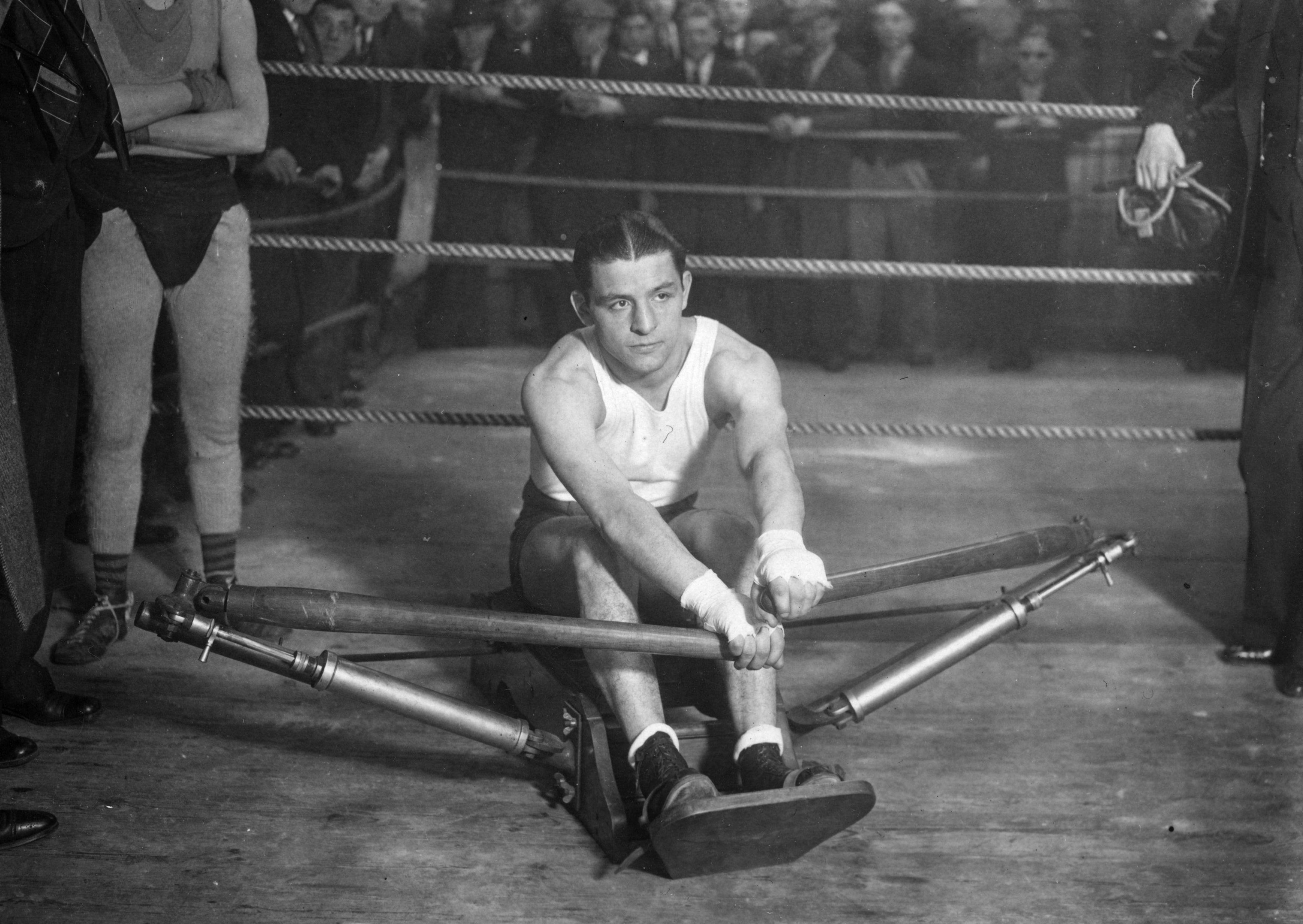 Jack 'Kid' Berg trained hard aftre coming from nowhere to conquer the world