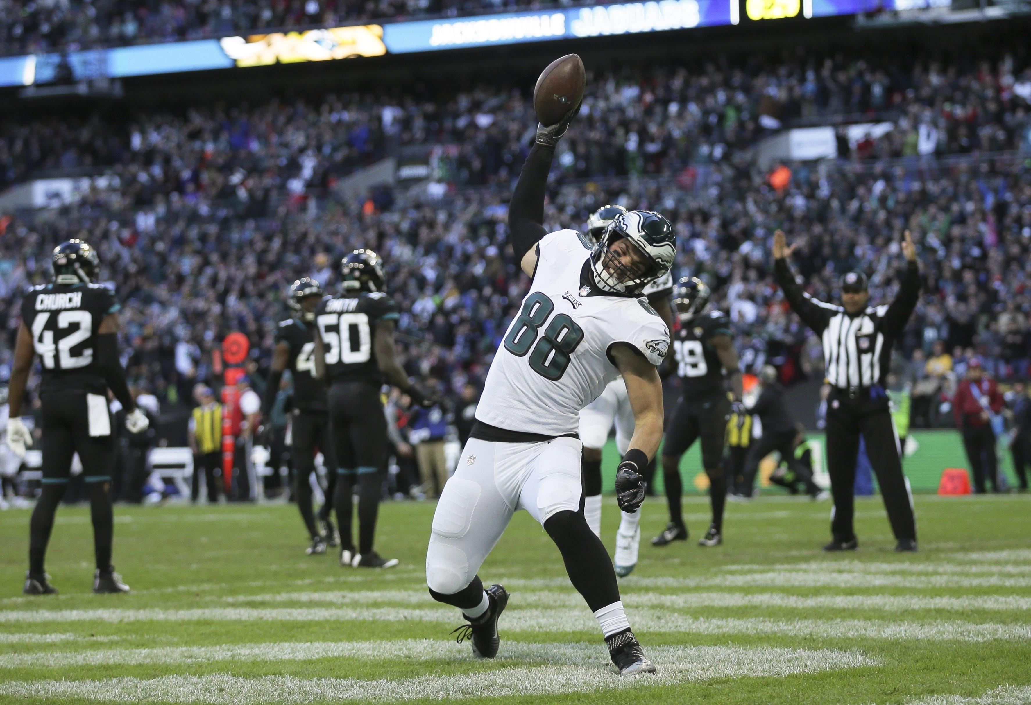 The Philadelphia Eagles came out on top in the latest NFL London game