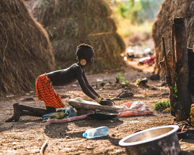 The home of the Mursi people is one of the most isolated regions of Ethiopia