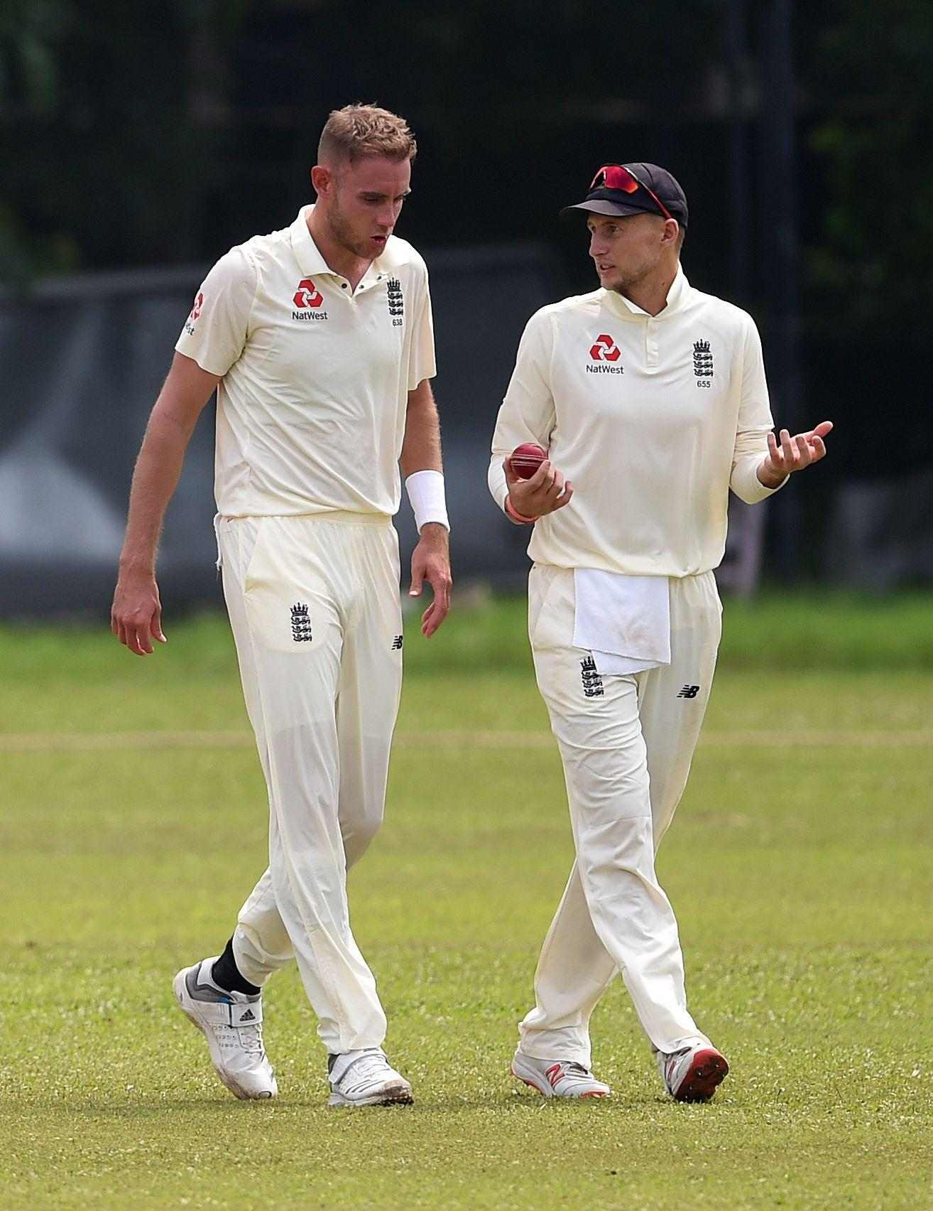 England toiled on a tricky day in preparation for the First Test in Sri Lanka