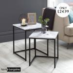 Home Bargains Is Selling Marble Tables For 24 99 That Look Exactly Like Habitat S 295 Version