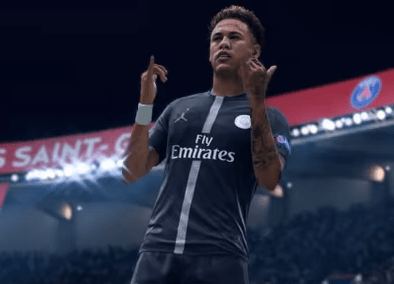 Paris Saint Germain's main man Neymar is the star of the new EA Sports promo