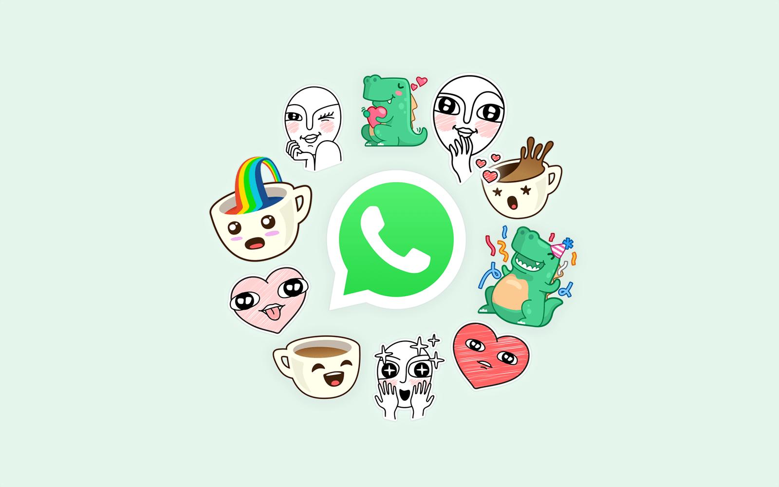 whatsapp update adds stickers