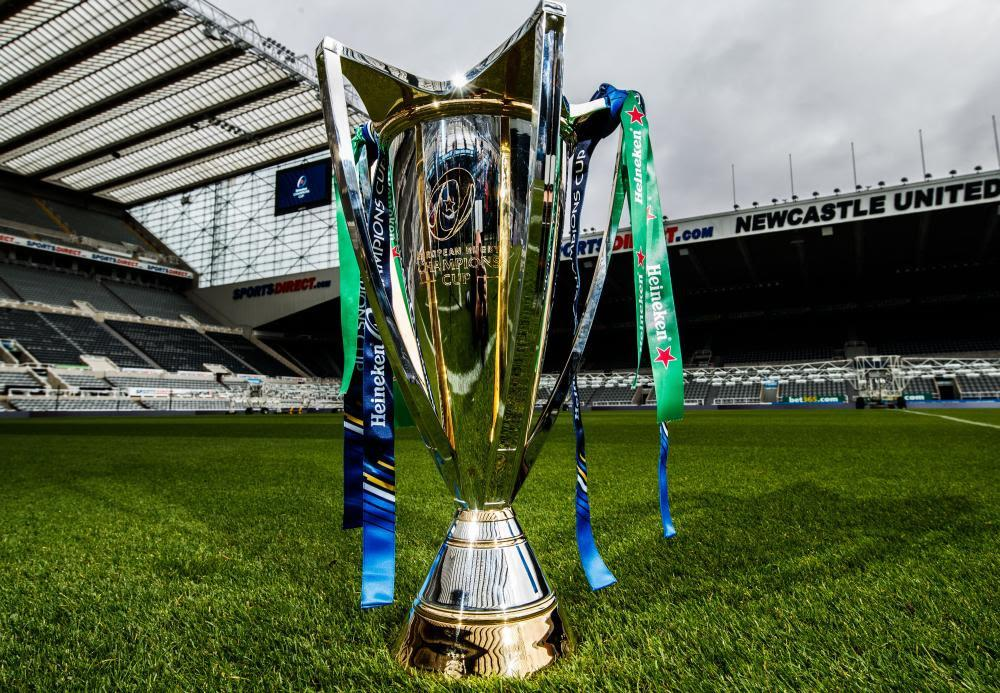 Who will lift this trophy at St James' Park in May?