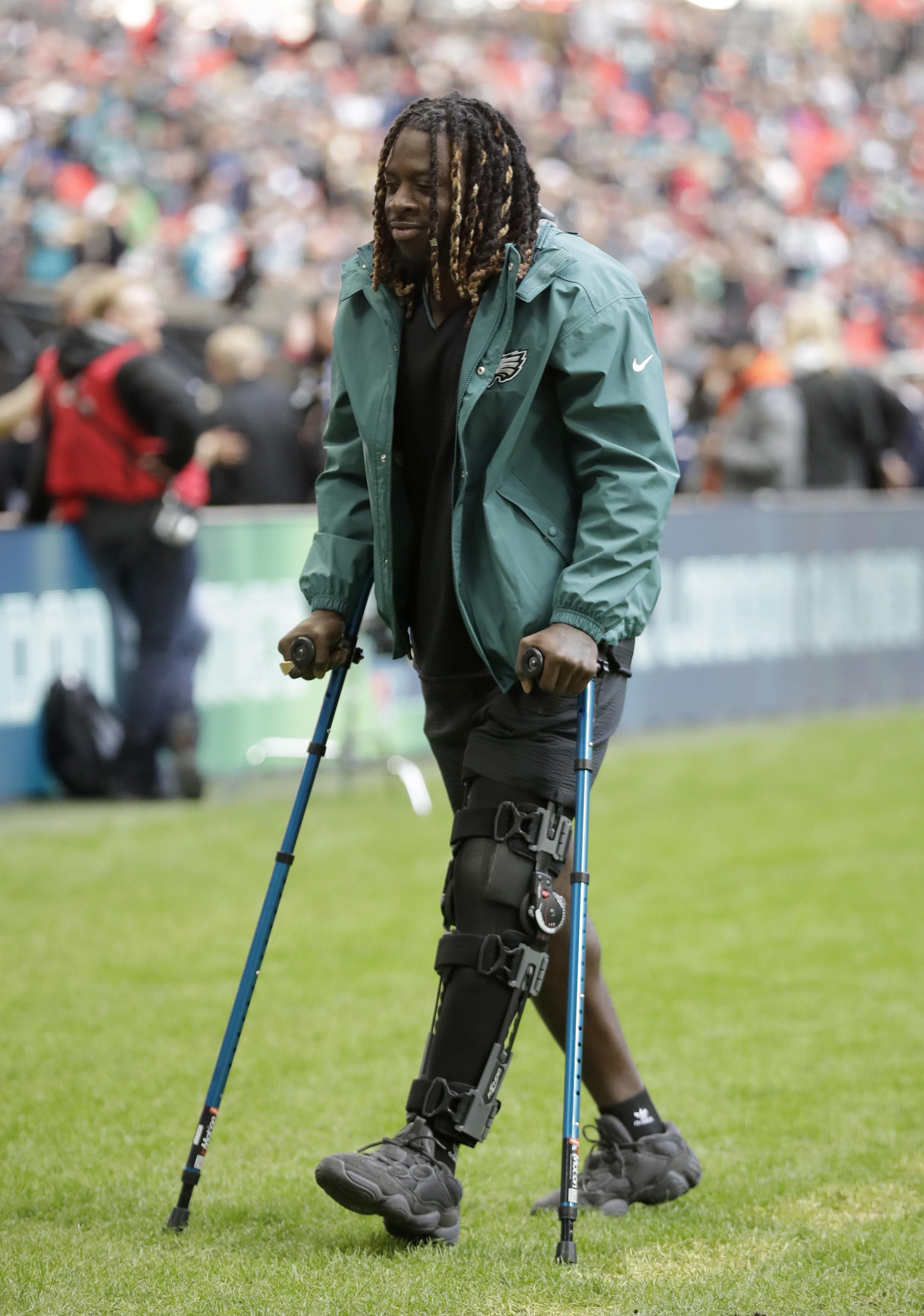 Eagles star Jay Ajayi is currently nursing an ACL injury after becoming the latest Brit to win the Super Bowl