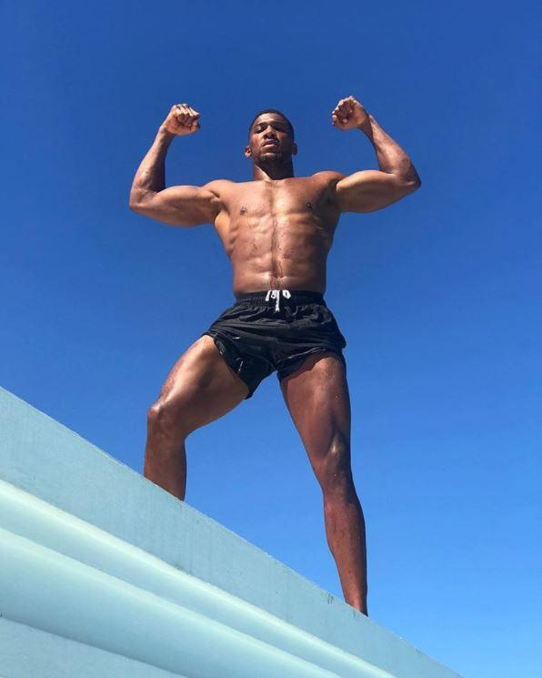 Anthony Joshua looks ripped on holiday in Jamaica