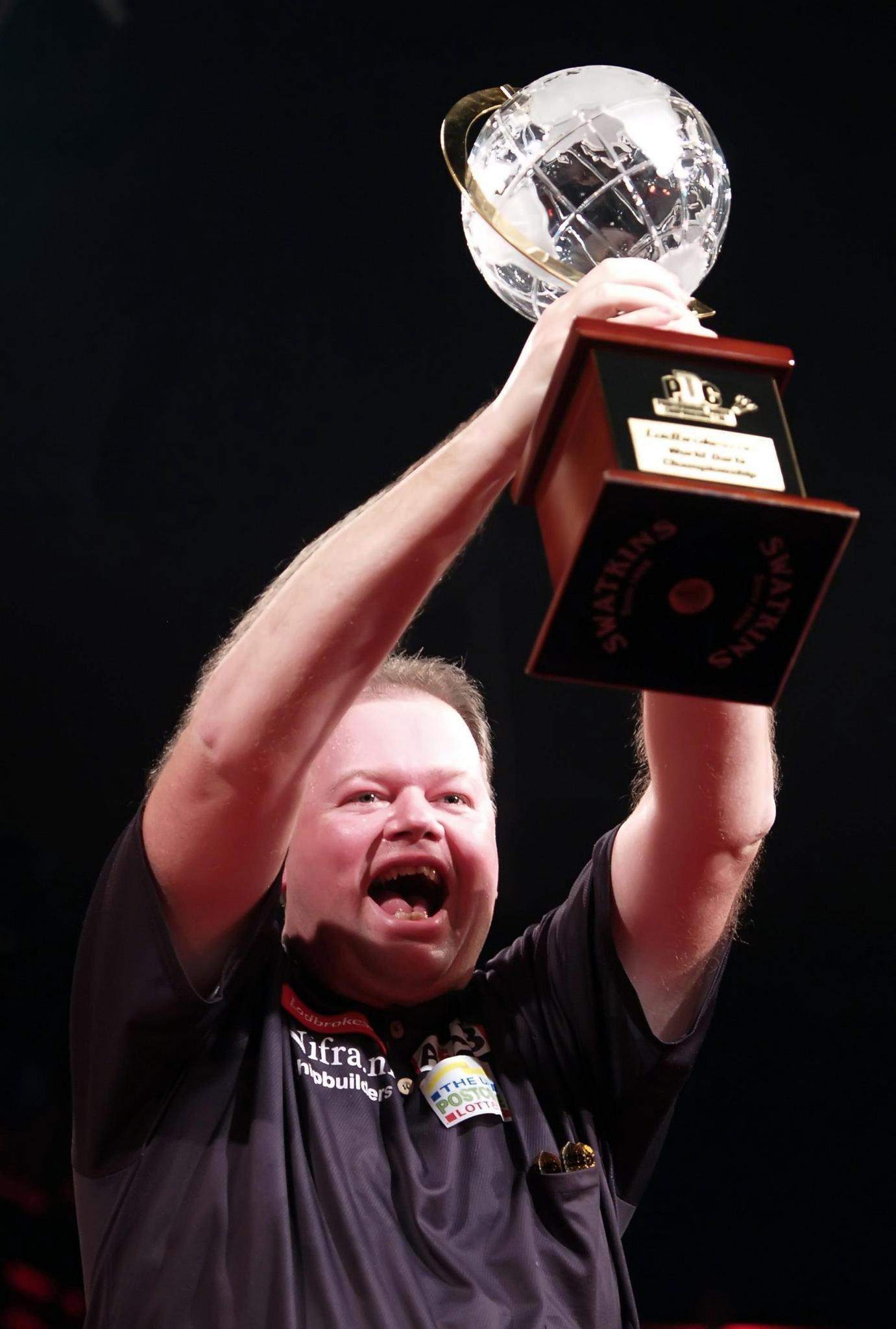 Van Barneveld won the PDC World Championship in 2007 after beating Phil Taylor
