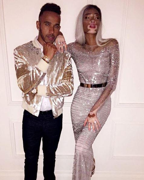 Lewis has recently been spotted with super-glam model Winnie Harlow