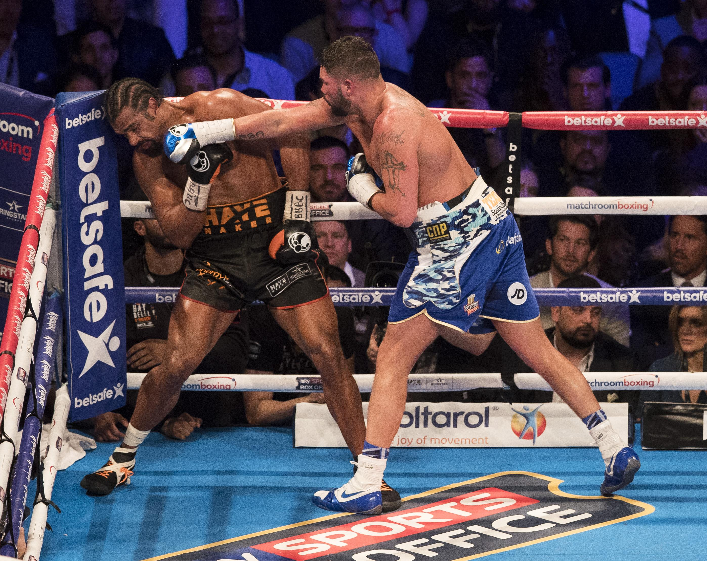 Bellew began his pro career at light-heavyweight before moving up to cruiserweight where he would win the WBC world title in 2016
