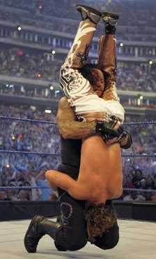 Shawn Michaels must hope he avoids this kind of treatment from the Undertaker