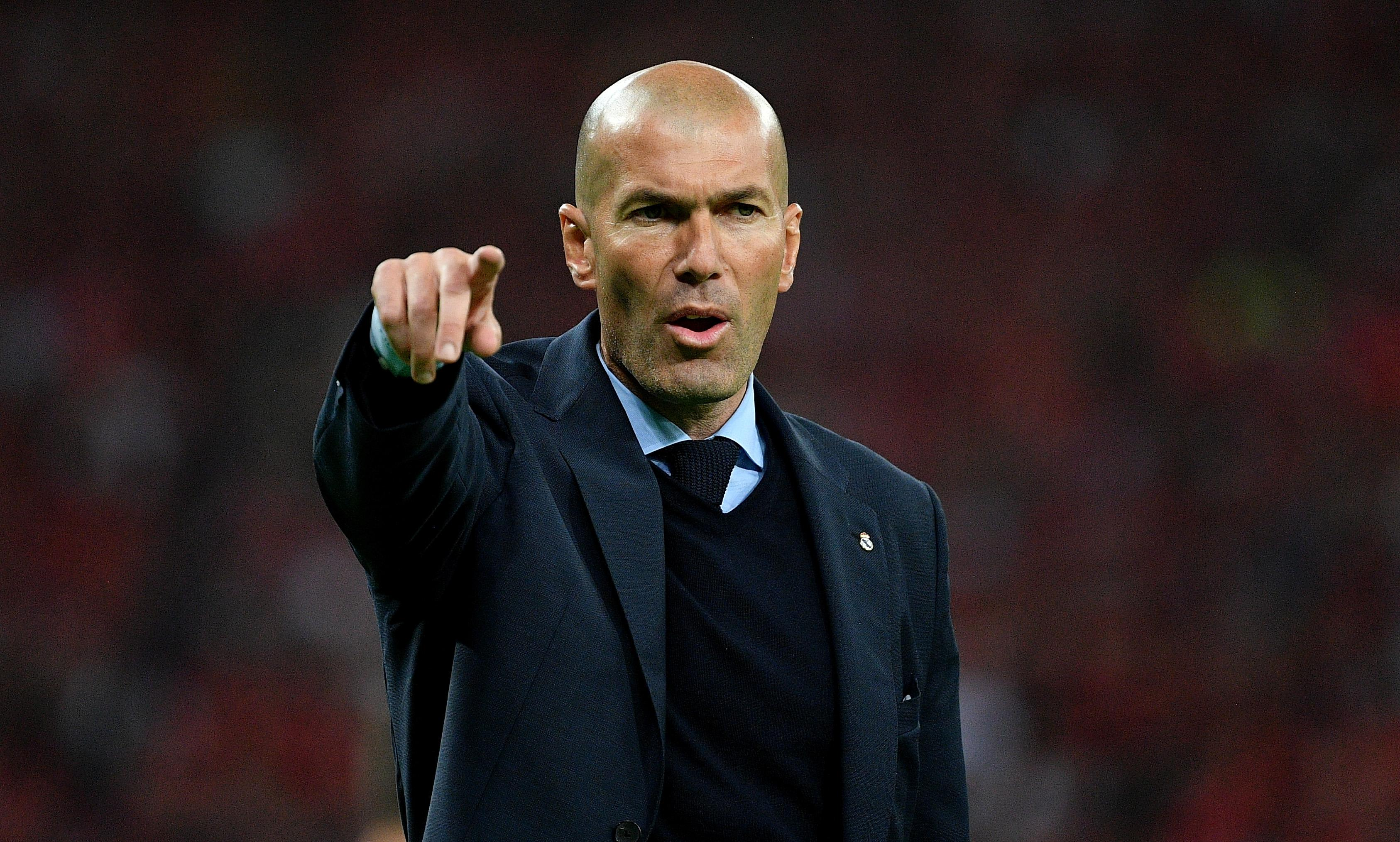 Zinedine Zidane is ready to make a return to management
