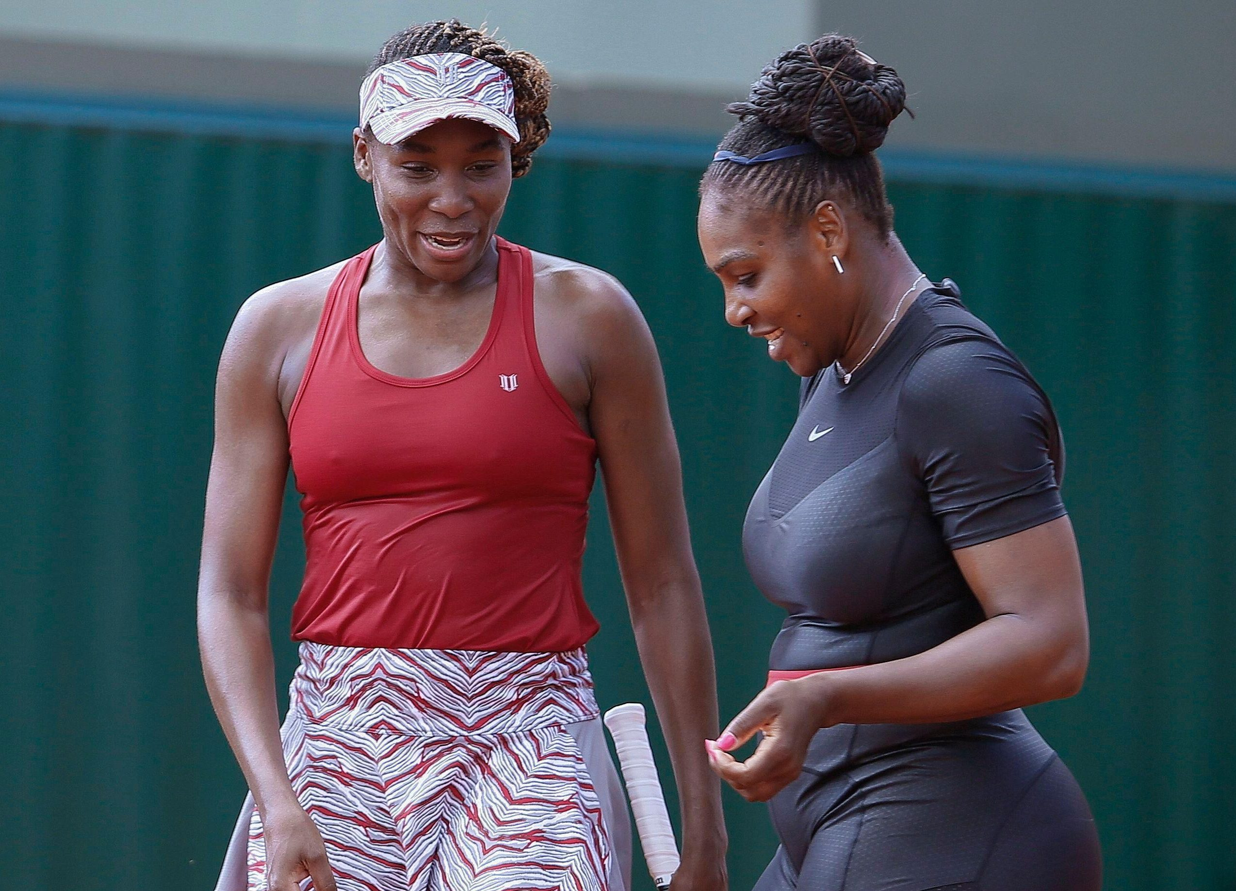 Venus Williams and sister Serena, right, have become the most iconic duo in women's tennis