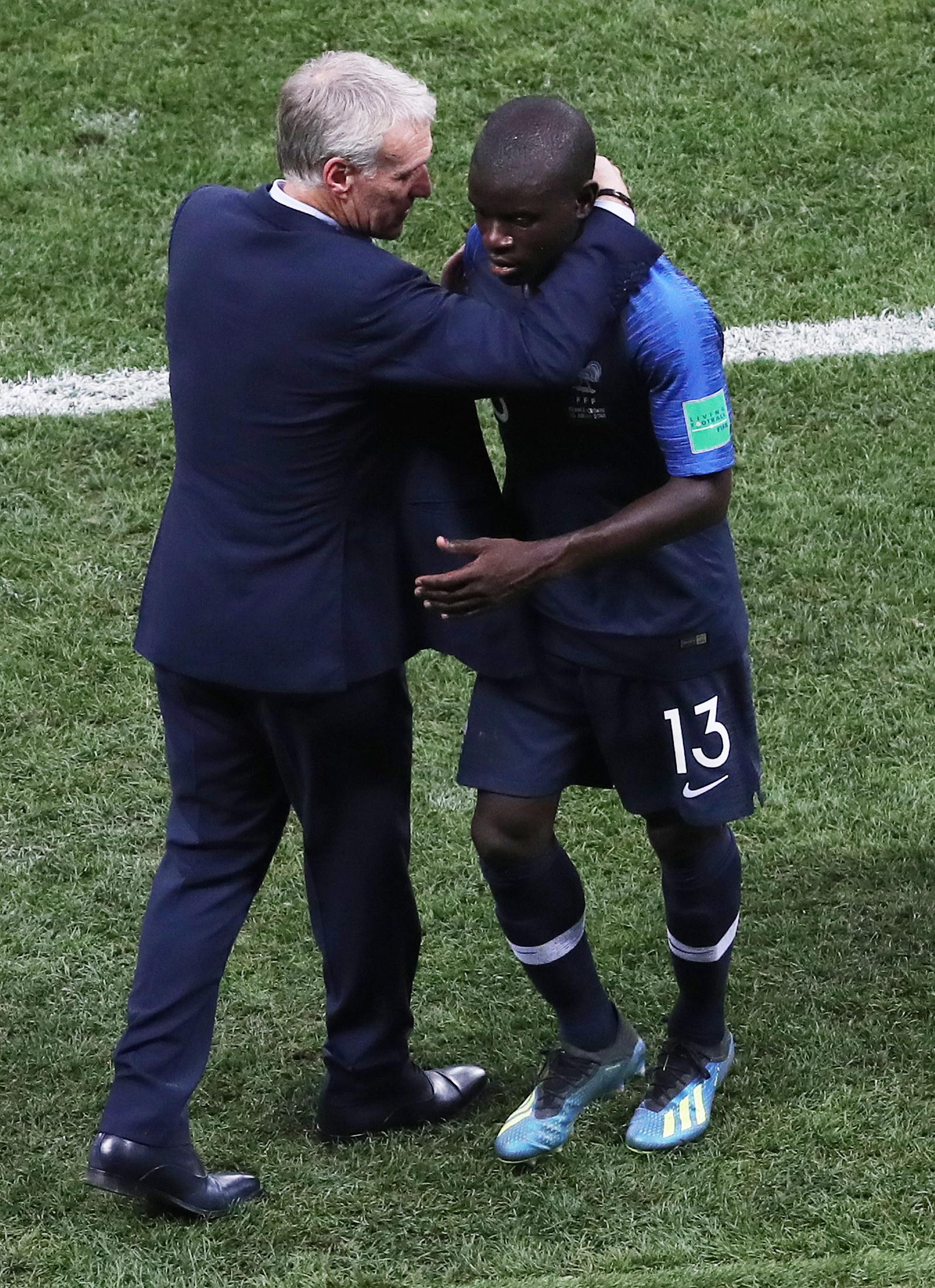 Kante is one of Deschamps' most trusted players