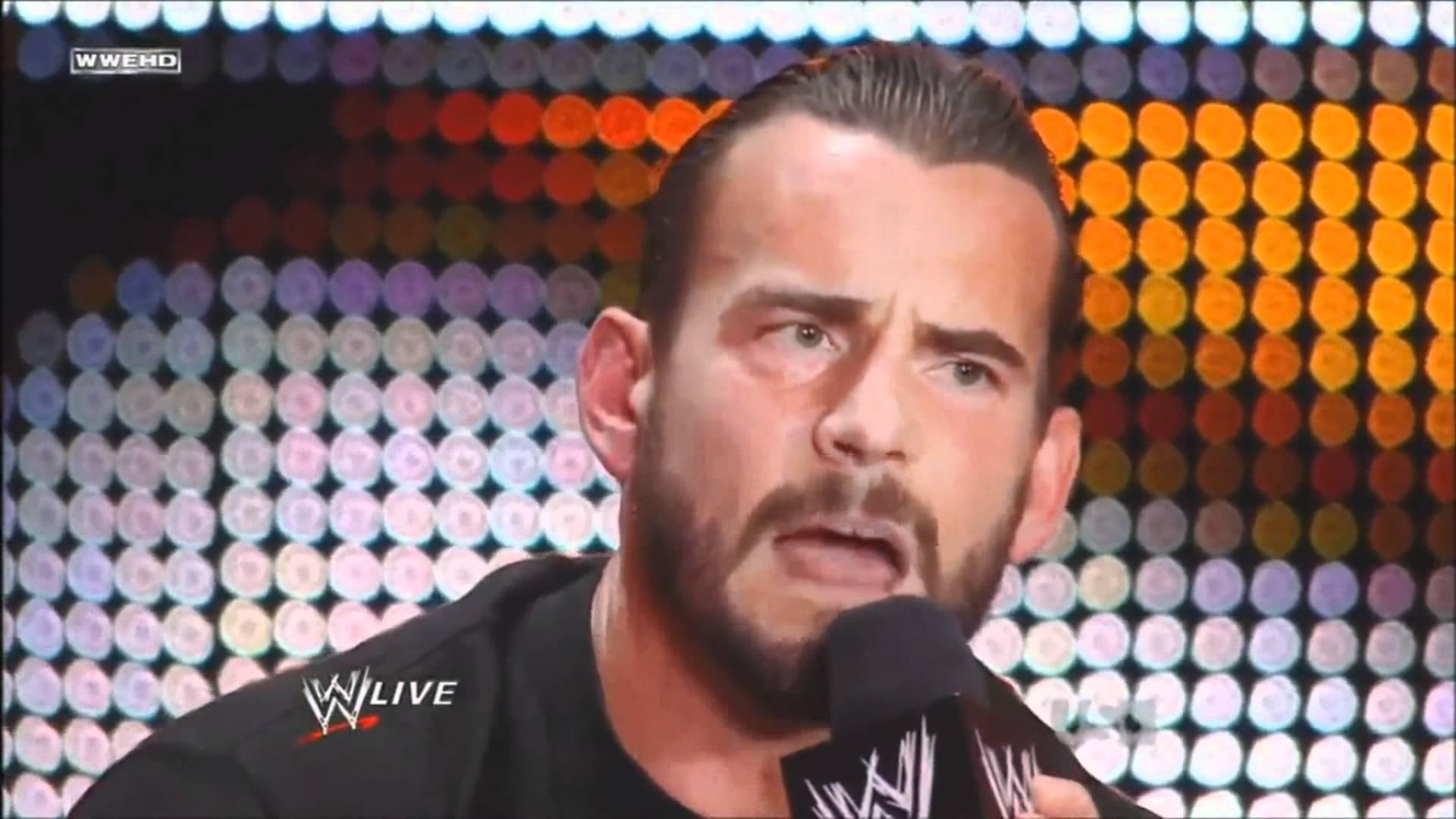 CM Punk was a WWE star from 1999 to 2014