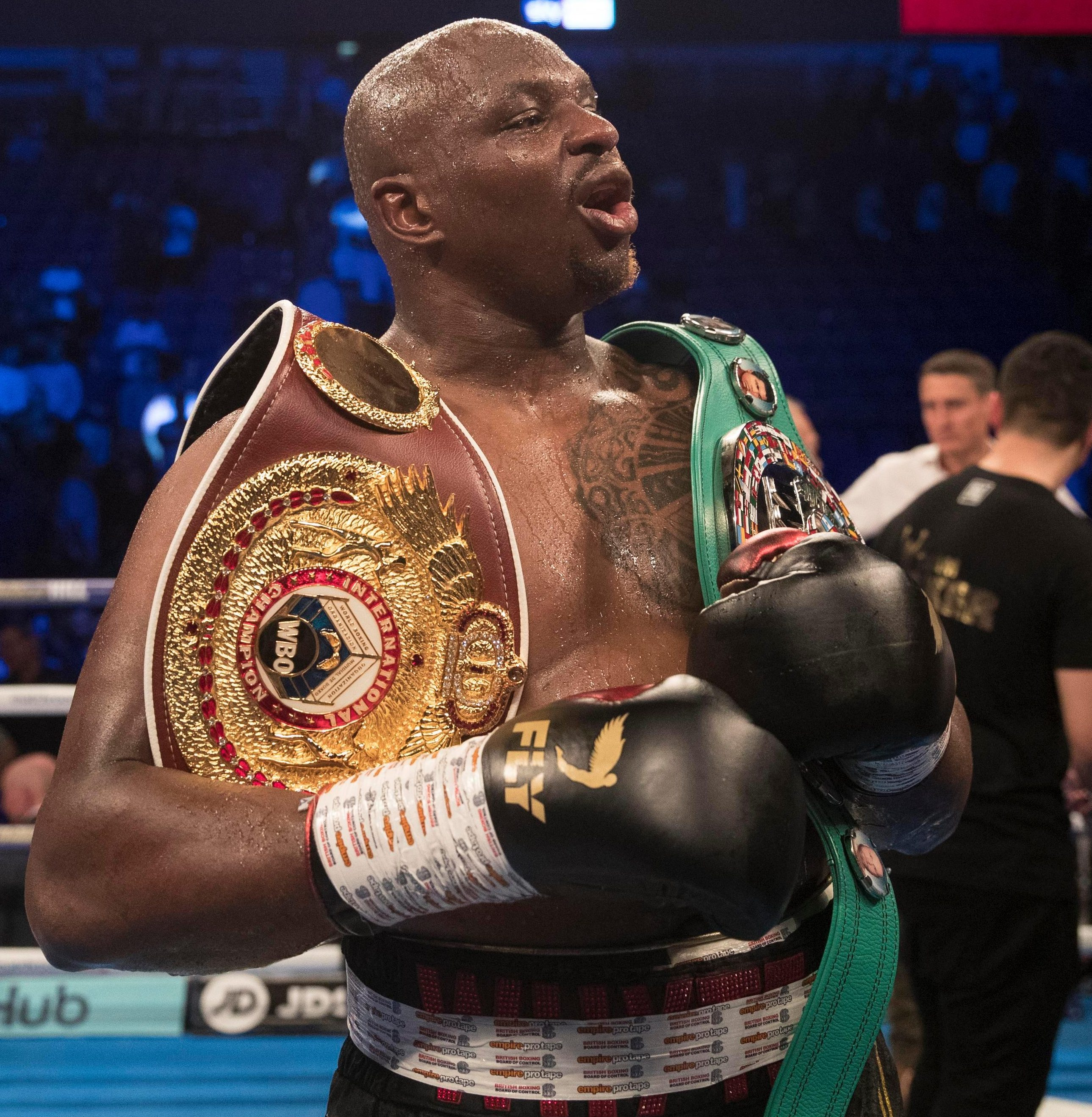 Dillian Whyte is desperate for a rematch against old foe Anthony Joshua