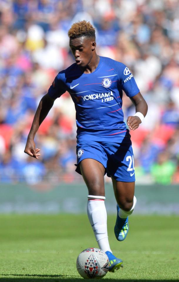 Callum Hudson-Odoi appears to have owned his elder team-mate at Fifa 19