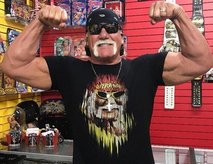 Hulk Hogan is back in favour with the WWE and will host the Crown Jewel event