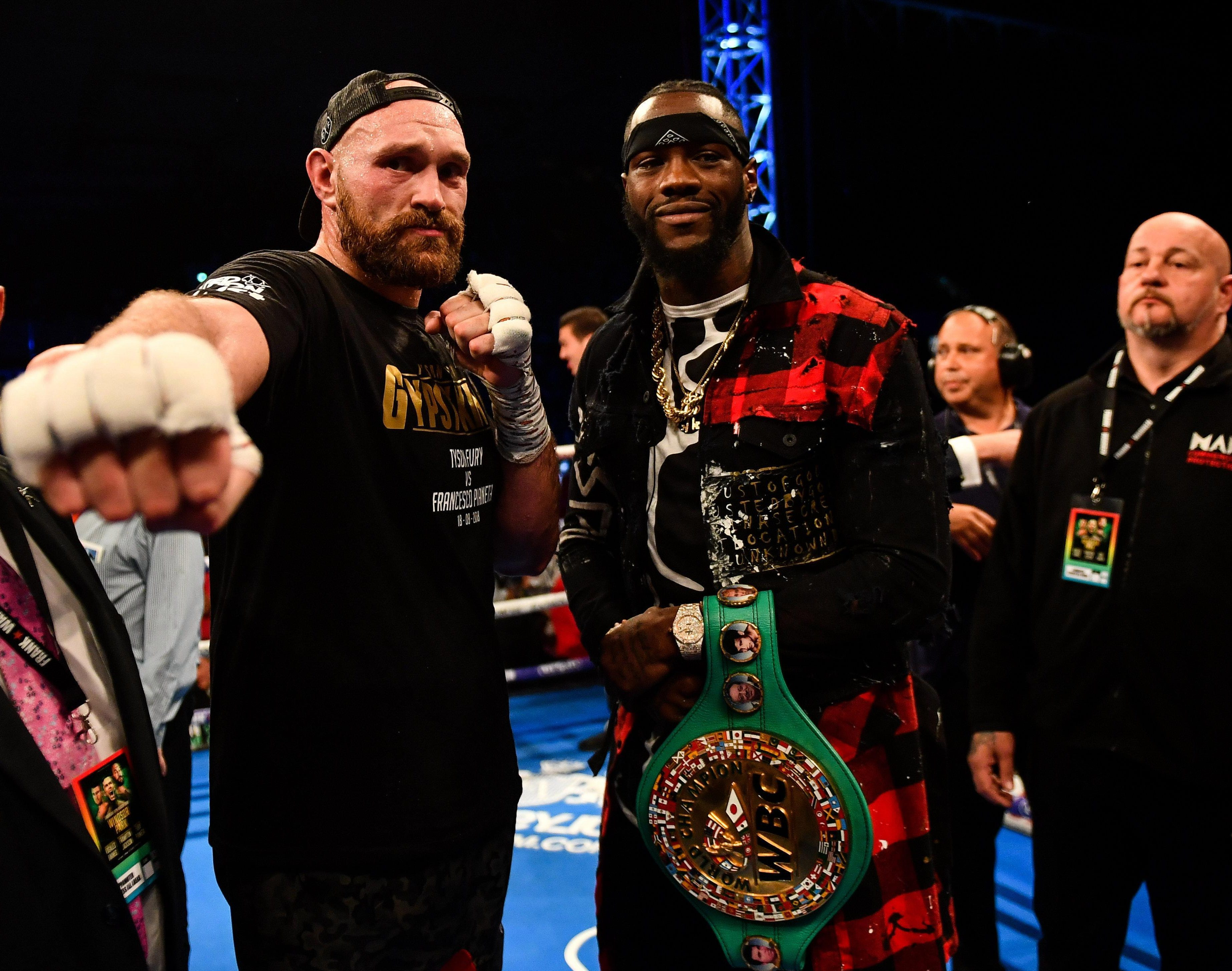Lennox Lewis says AJ should fight Tyson Fury or Deontay Wilder