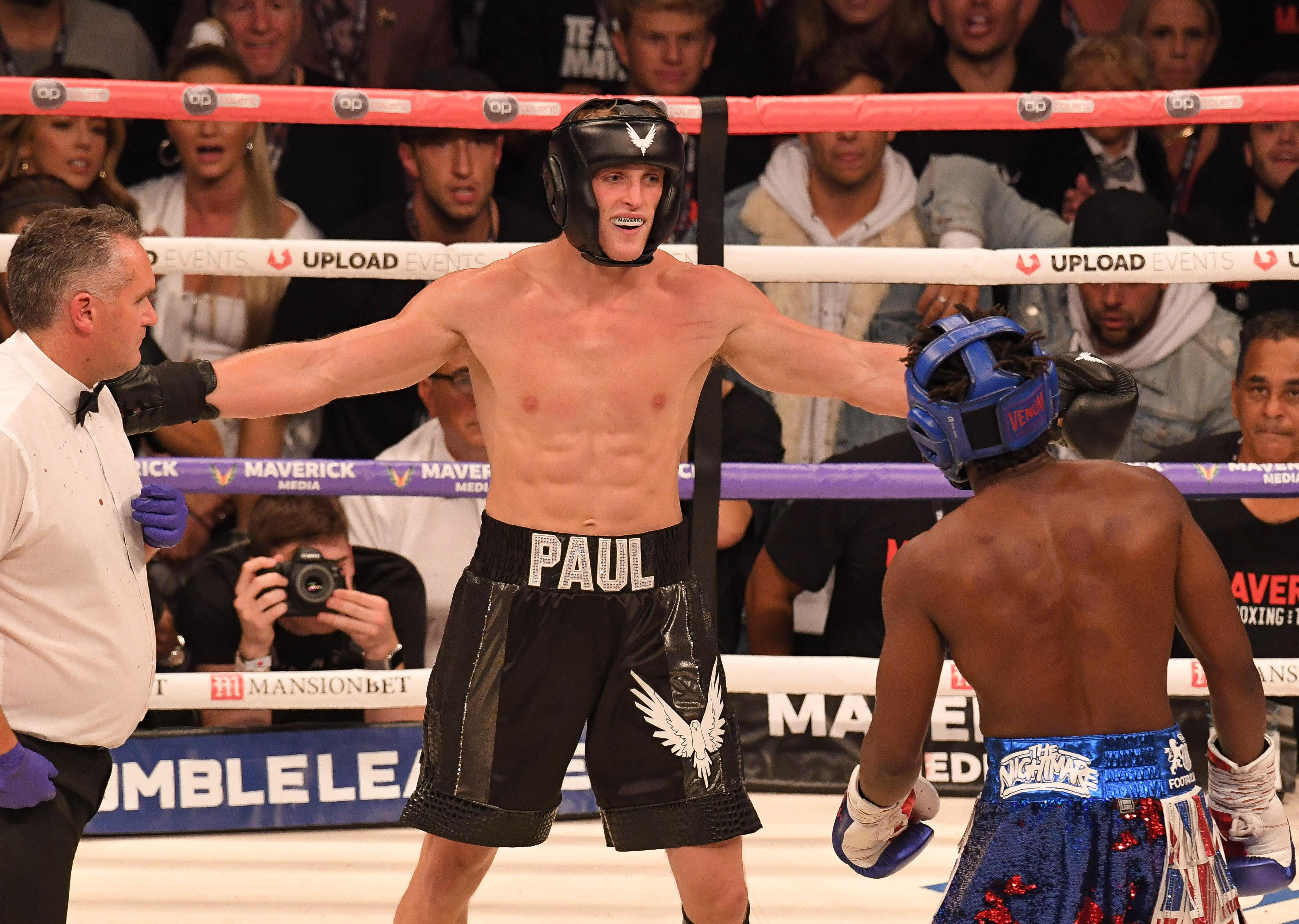 Paul fought fellow YouTuber KSI in an exhibition bout