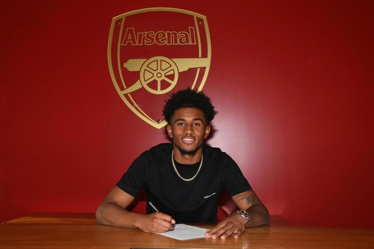 Reiss Nelson penned a new long-term contract at Arsenal before joining Hoffenheim in the summer