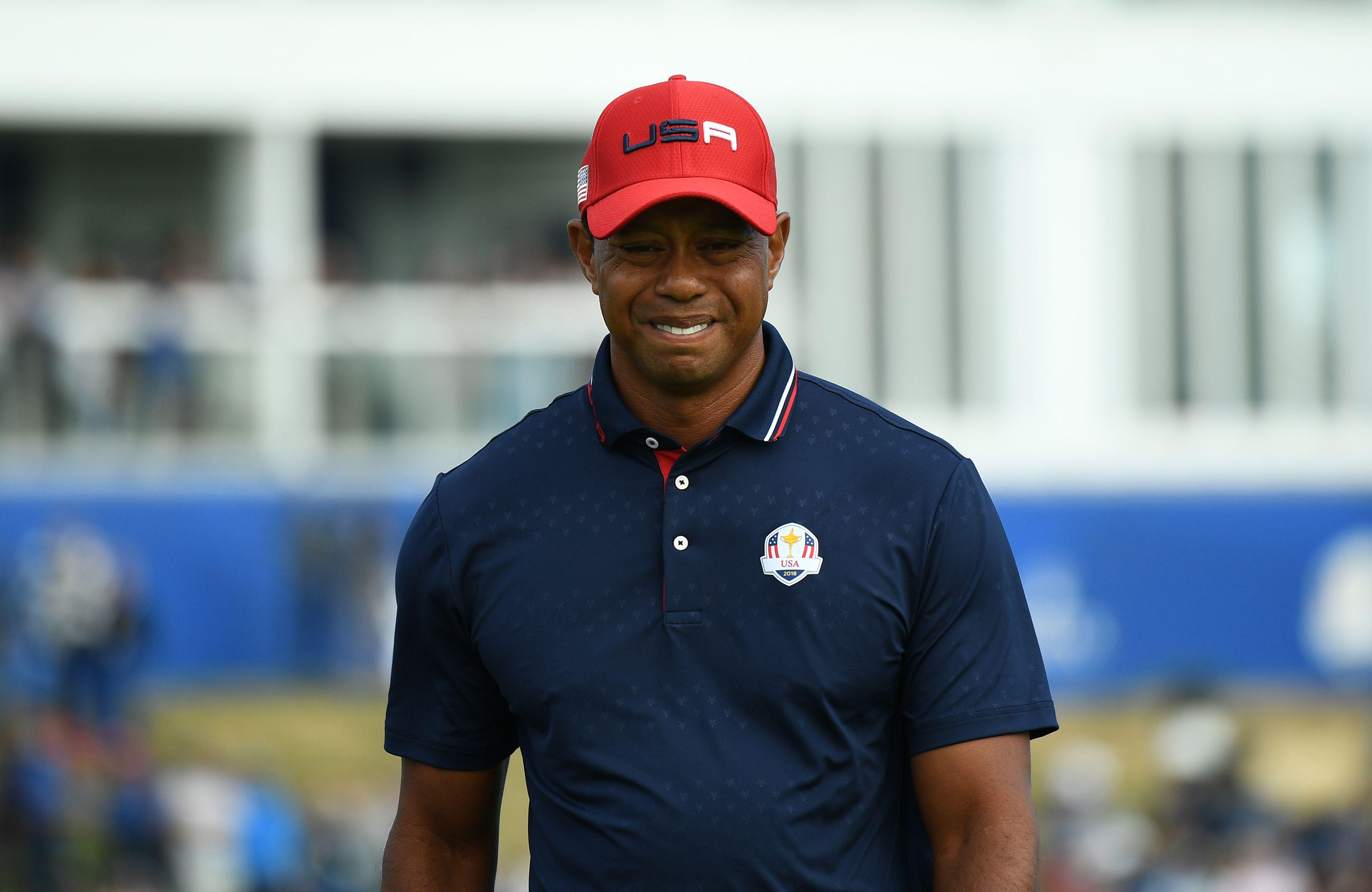 Woods wasn't at his best during the Ryder Cup