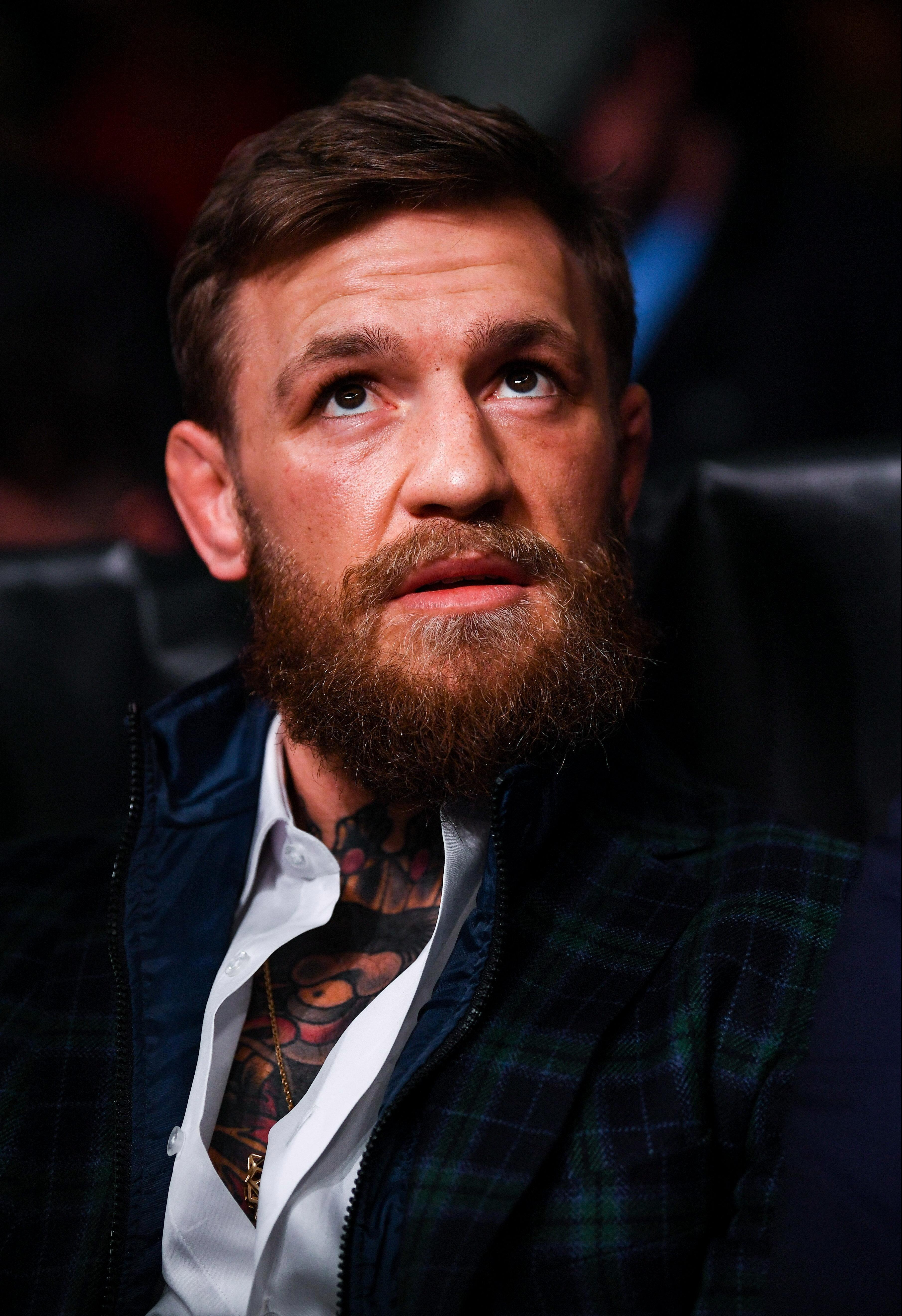 McGregor is alleged to have been 33mph over the limit