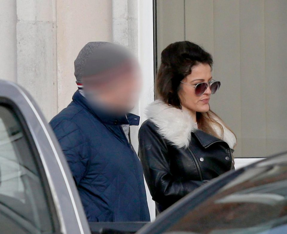 Roxanne Davis, 30, of Gosport, Hampshire, is seen arriving at court during a previous hearing