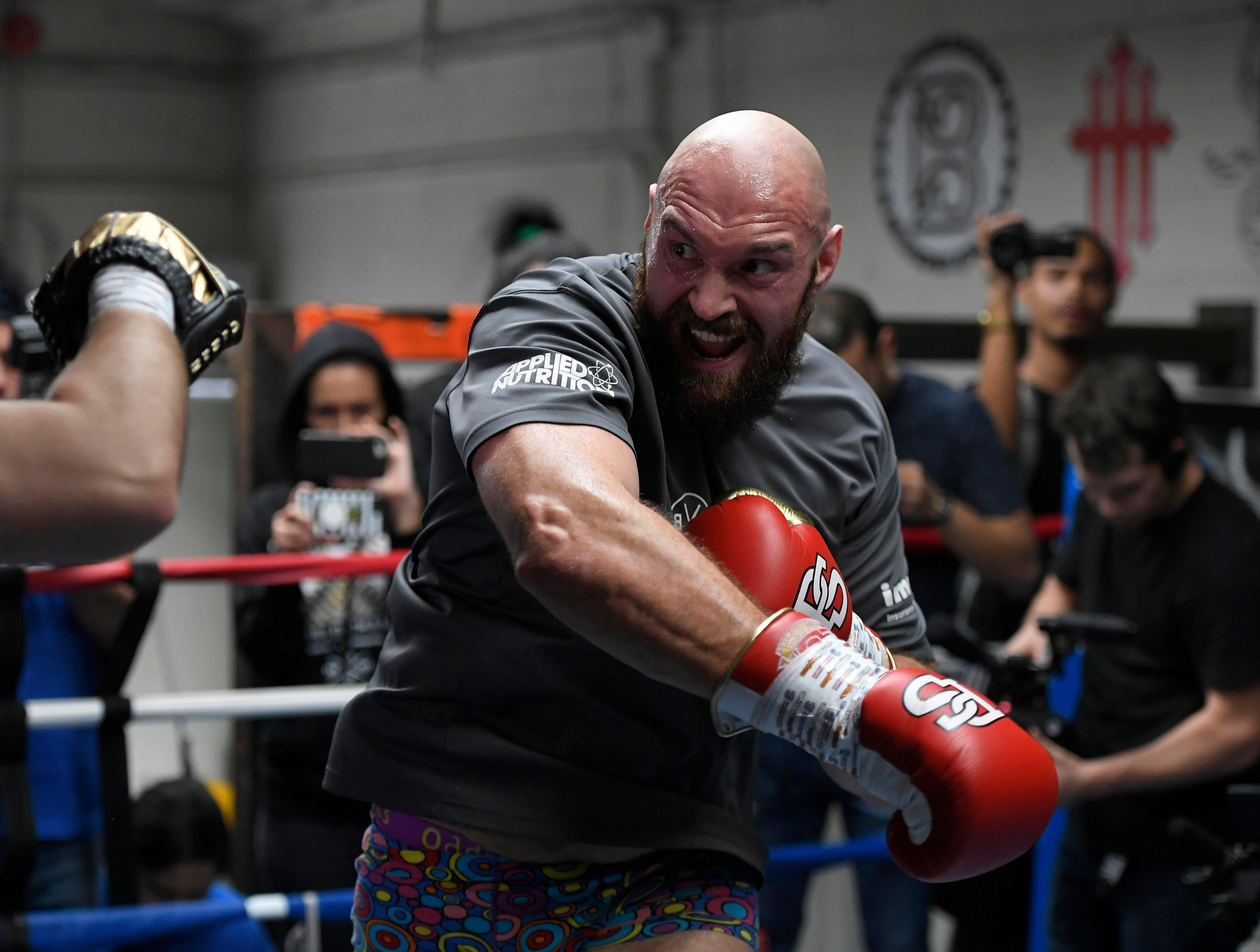 Tyson Fury has been tipped to KO Deontay Wilder inside six rounds