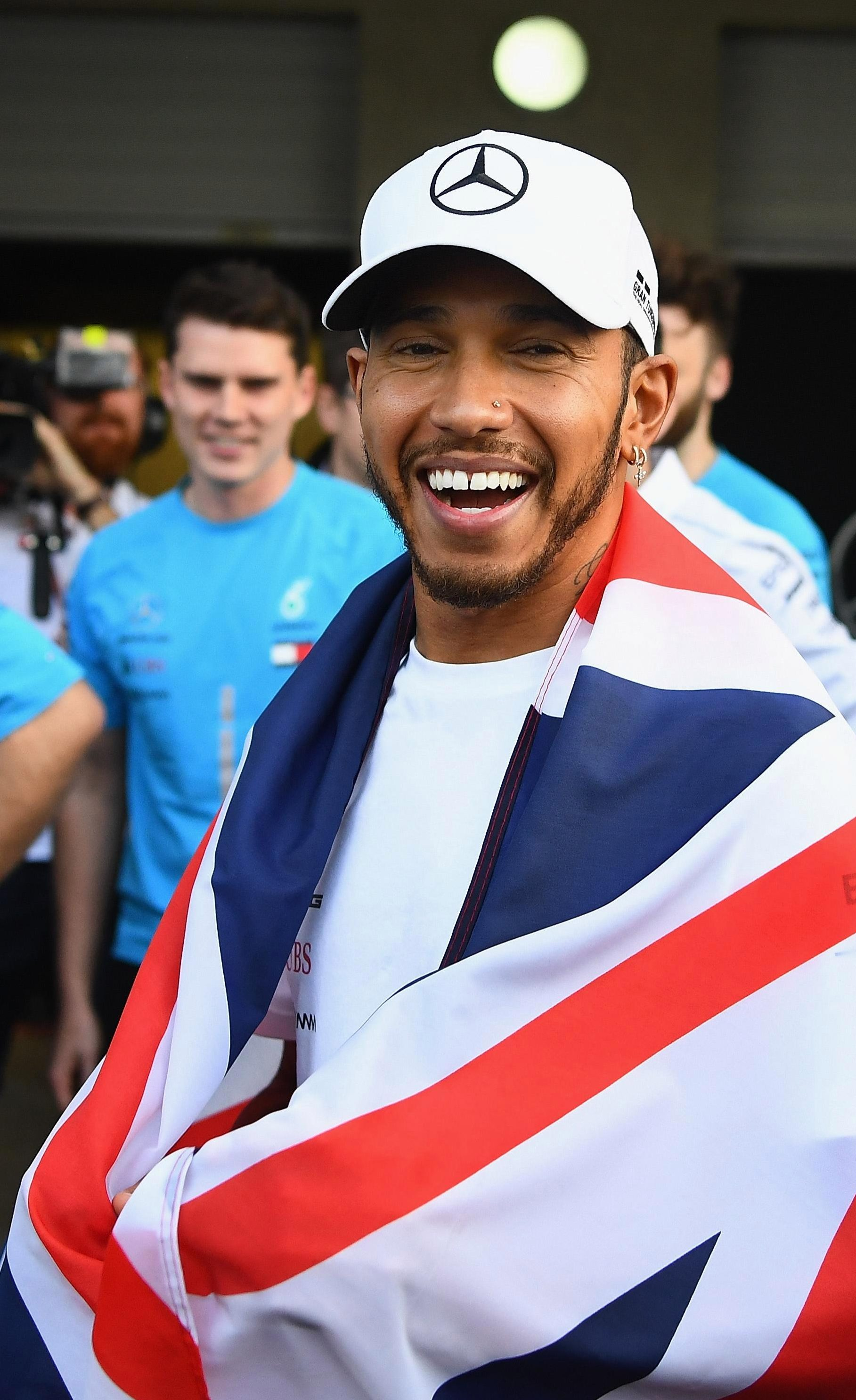 Lewis Hamilton clinched the Formula One World Championship