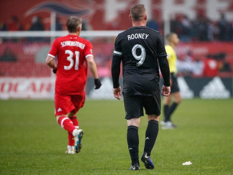 7c2a63eebae Bastian Schweinsteiger currently plays in the MLS with ex-United pal Wayne  Rooney