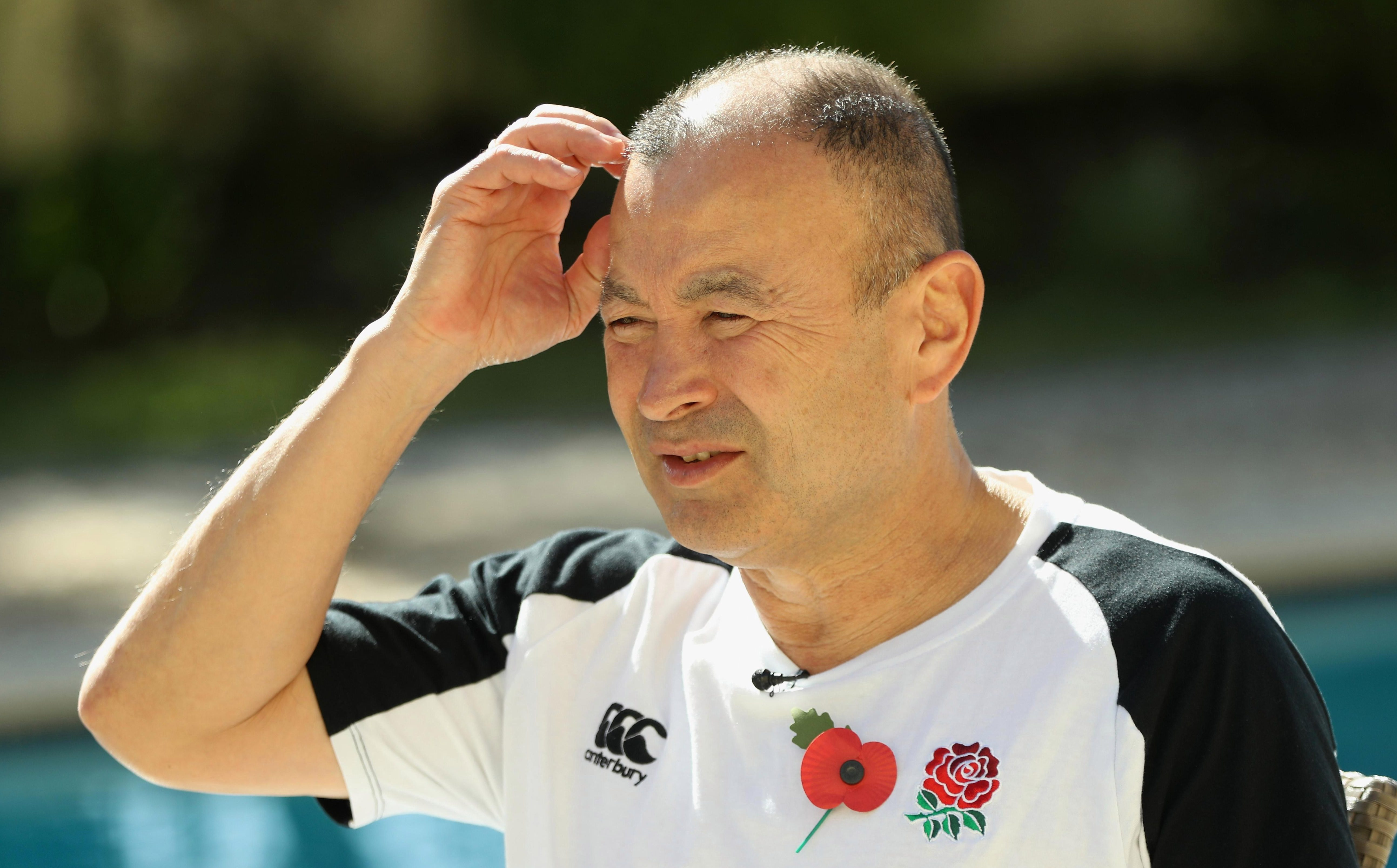 Eddie Jones has done a lot of head scratching trying to find forwards who are fit and not suspended
