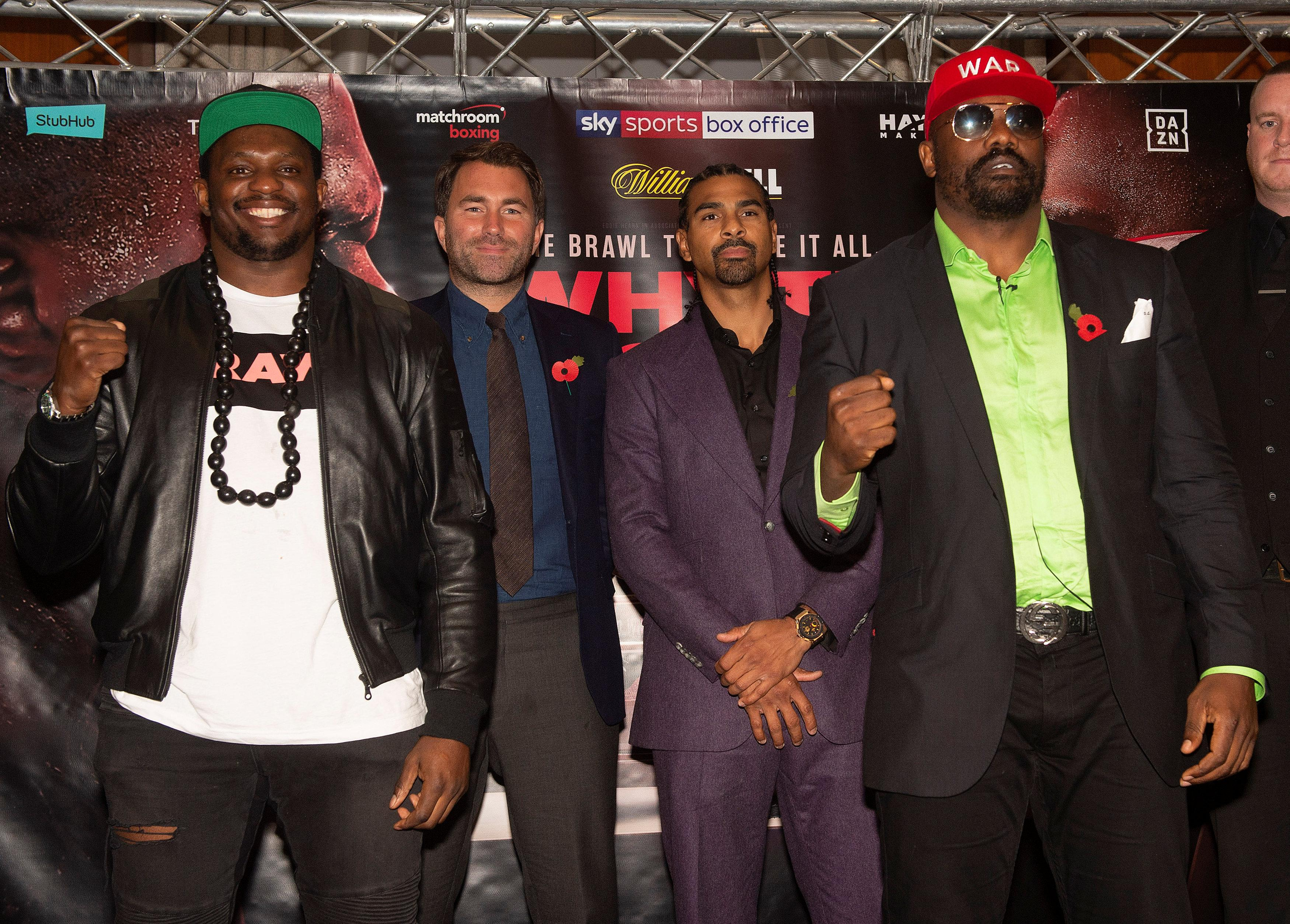 Whyte and Chisora will meet in a rematch having competed in a Fight of The Year contender in December 2016