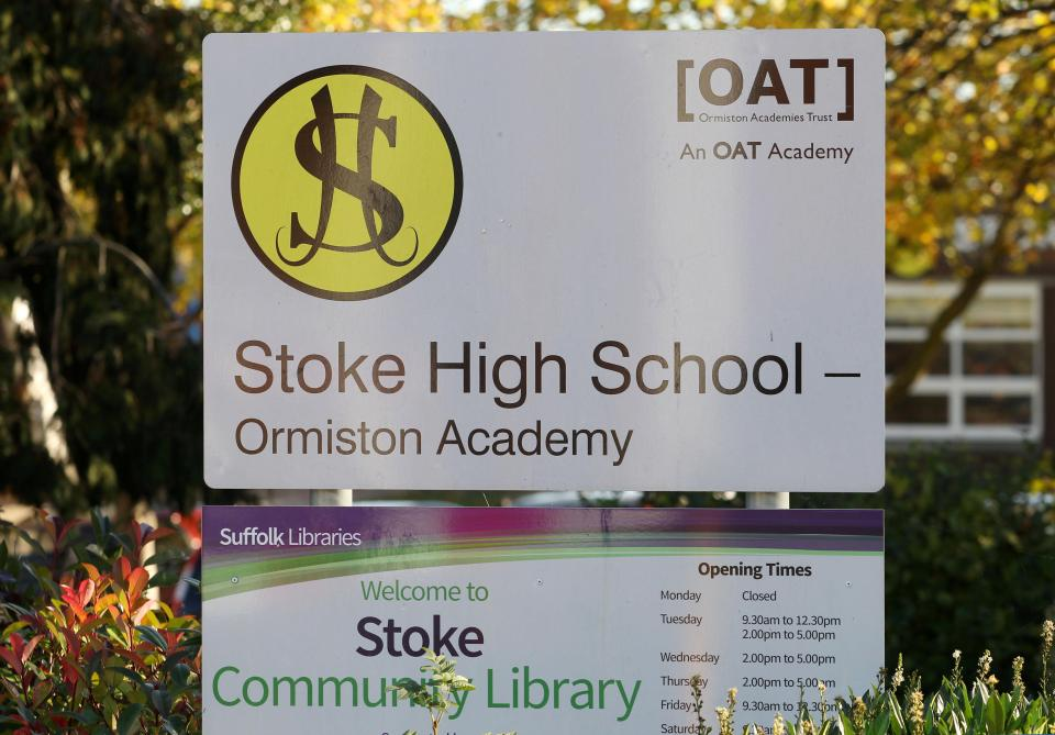A pupil claimed to be a 15-year-old boy and spent six weeks as a Year 11 pupil at Stoke High School in Ipswich, Suffolk before being determined to be an adult