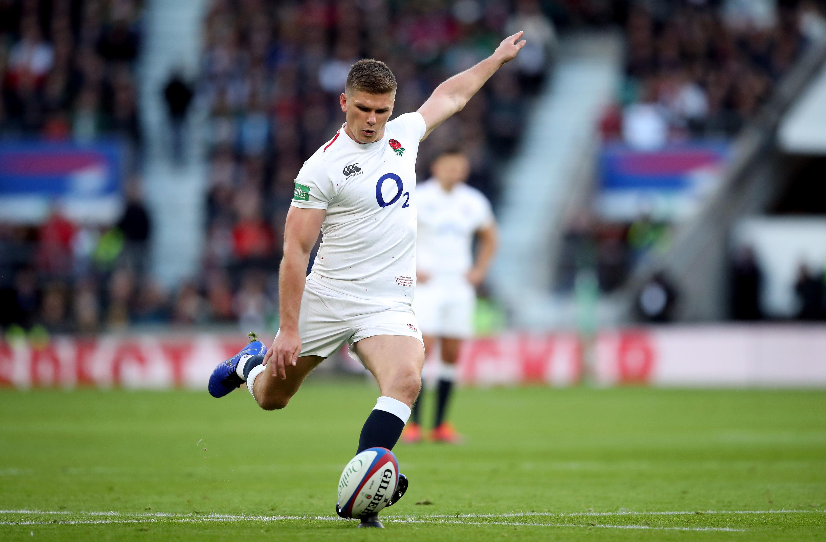 Farrell scored a late winner as the Red Rose ran out 12-11 victors at Twickenham
