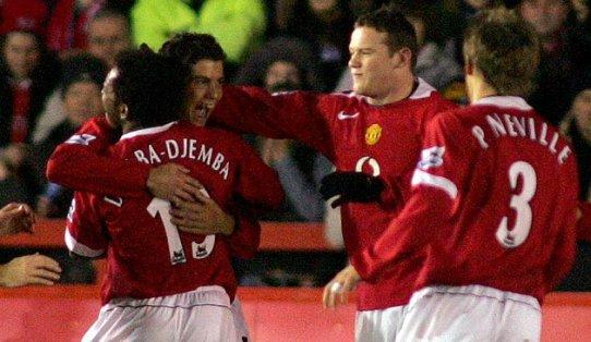When he was at Manchester United the midfielder's surname was actually incorrectly spelled on the shirt