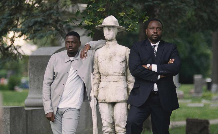 Some of the men in the film include Daniel Kaluuya who plays a very realistically vindictive henchman