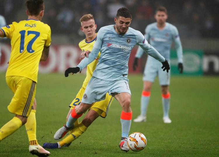 Chelsea fans called for Mateo Kovacic to replace Ross Barkley