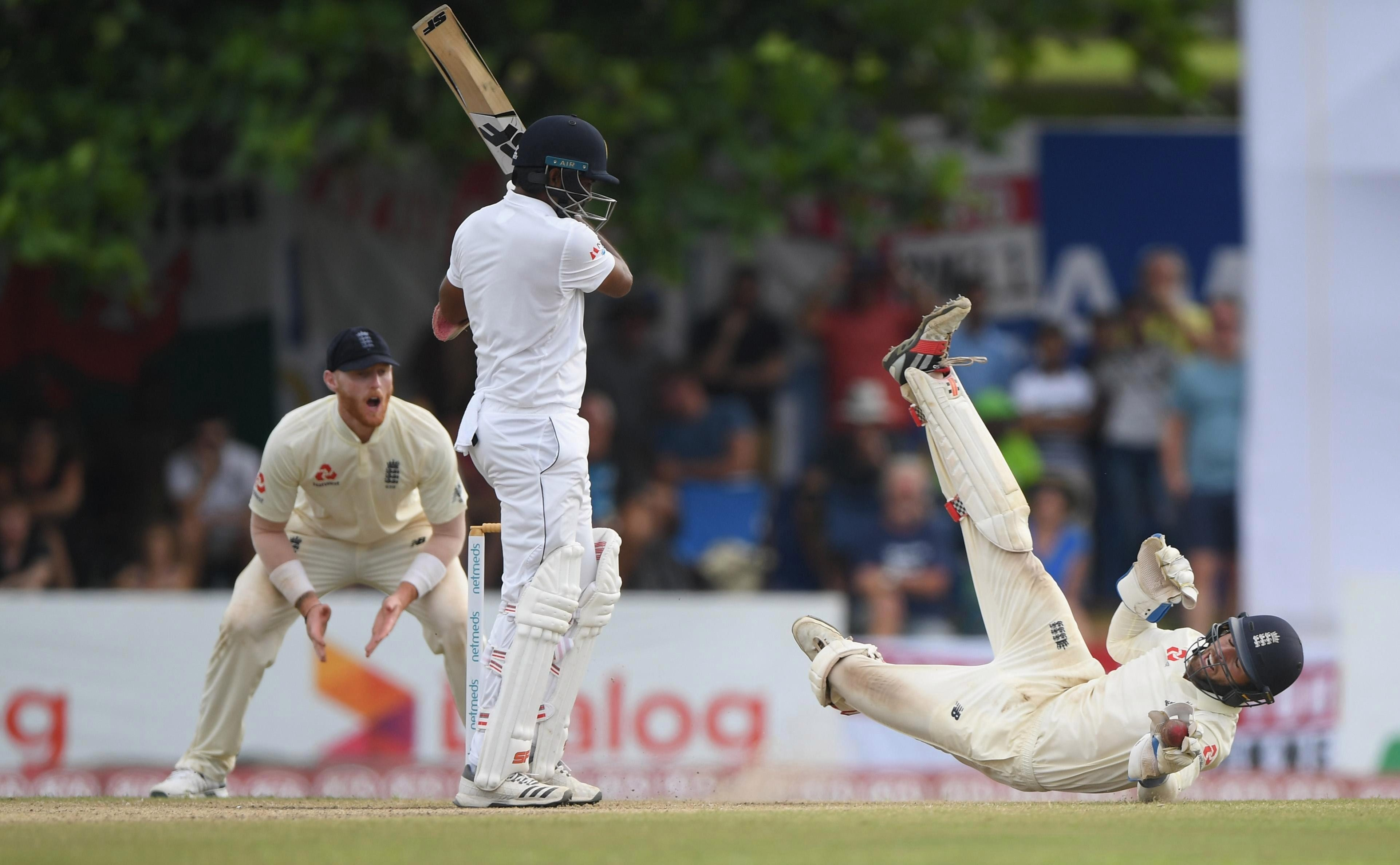 England could have been left to rue a number of dropped catches