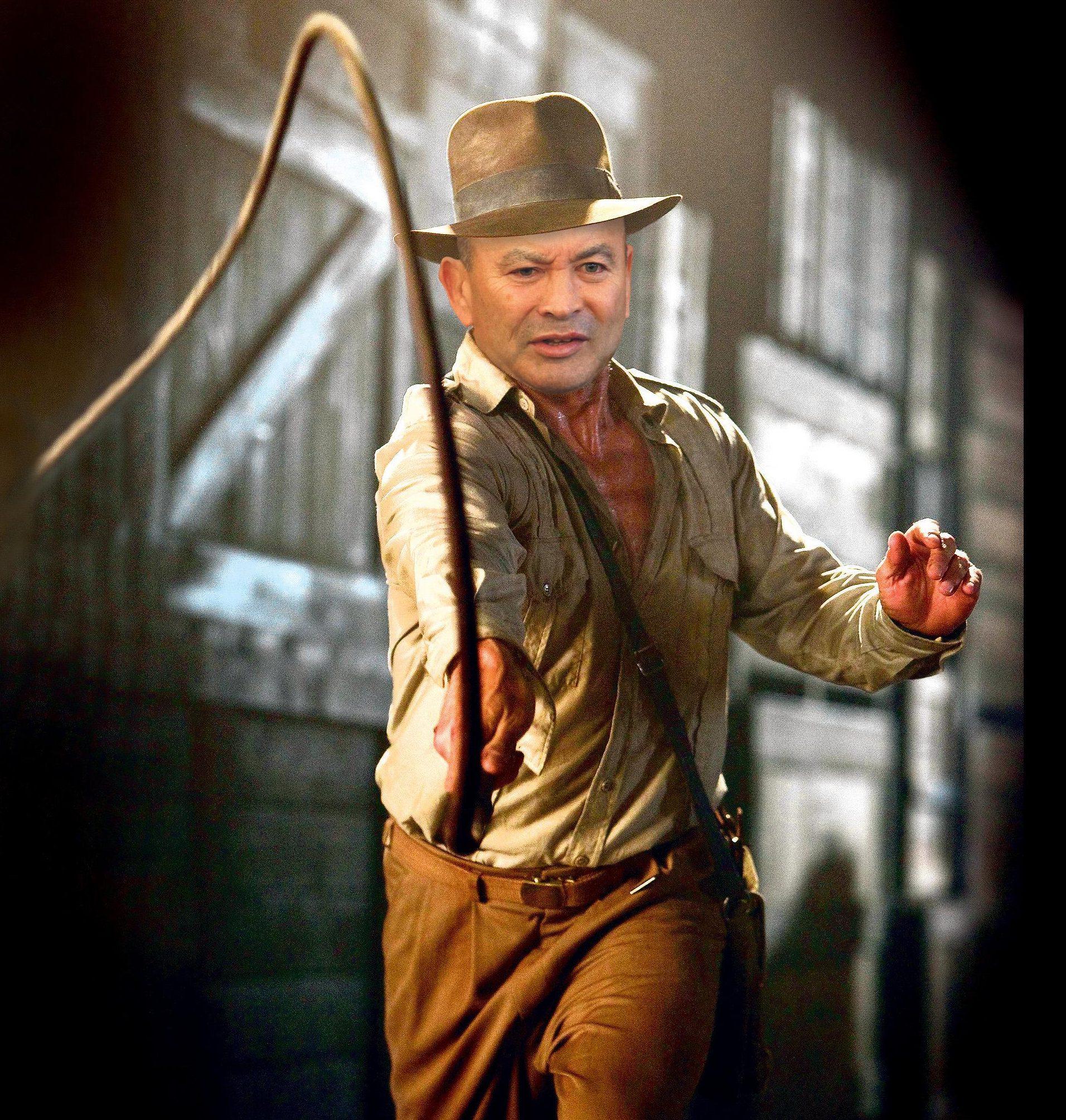 Eddie Jones wants a blockbuster on a level with Indiana Jones