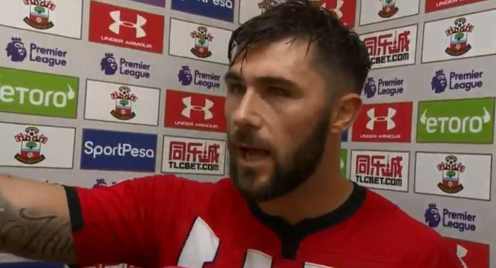 Charlie Austin went on an incredible rant at full-time