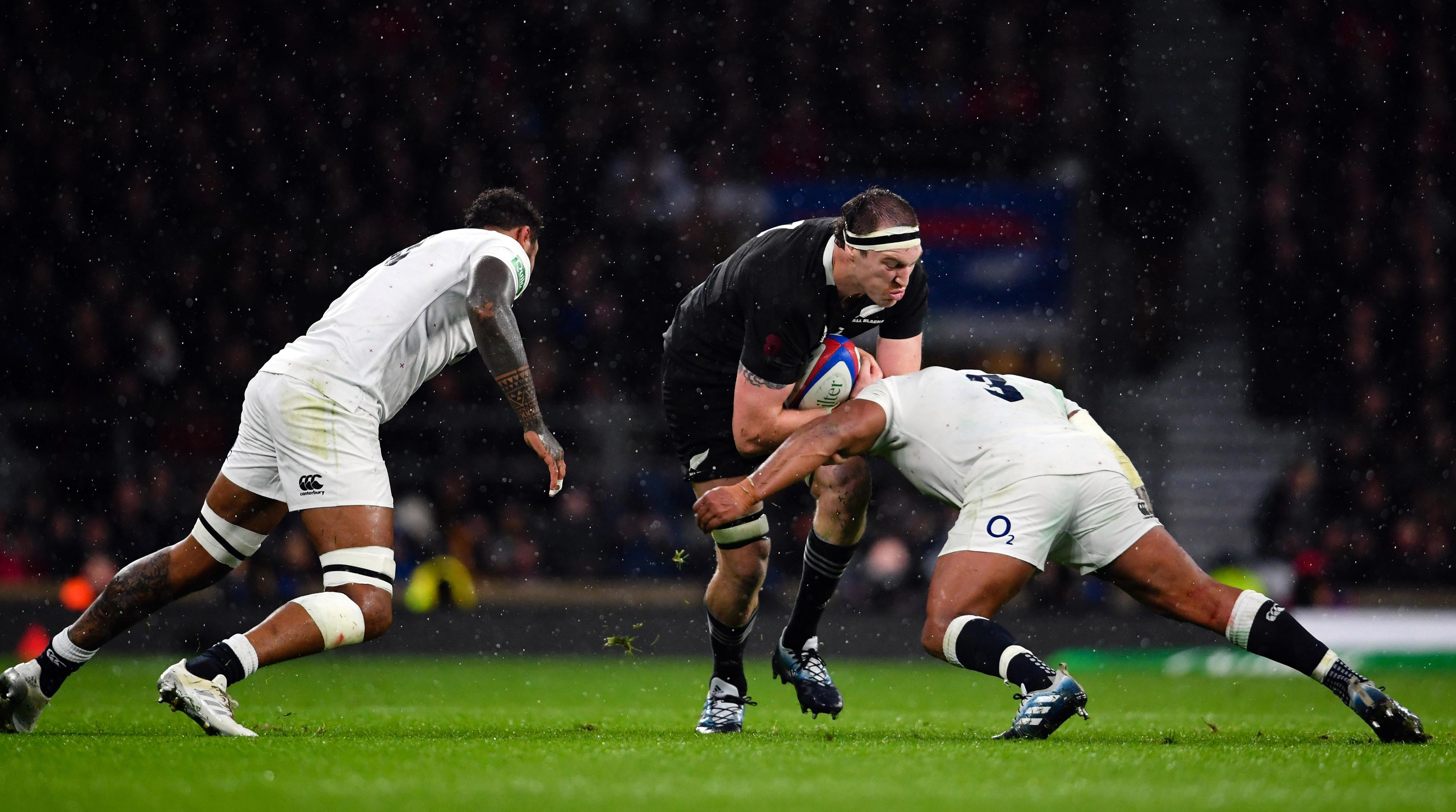 The star produced a bone-shattering display against the All Blacks